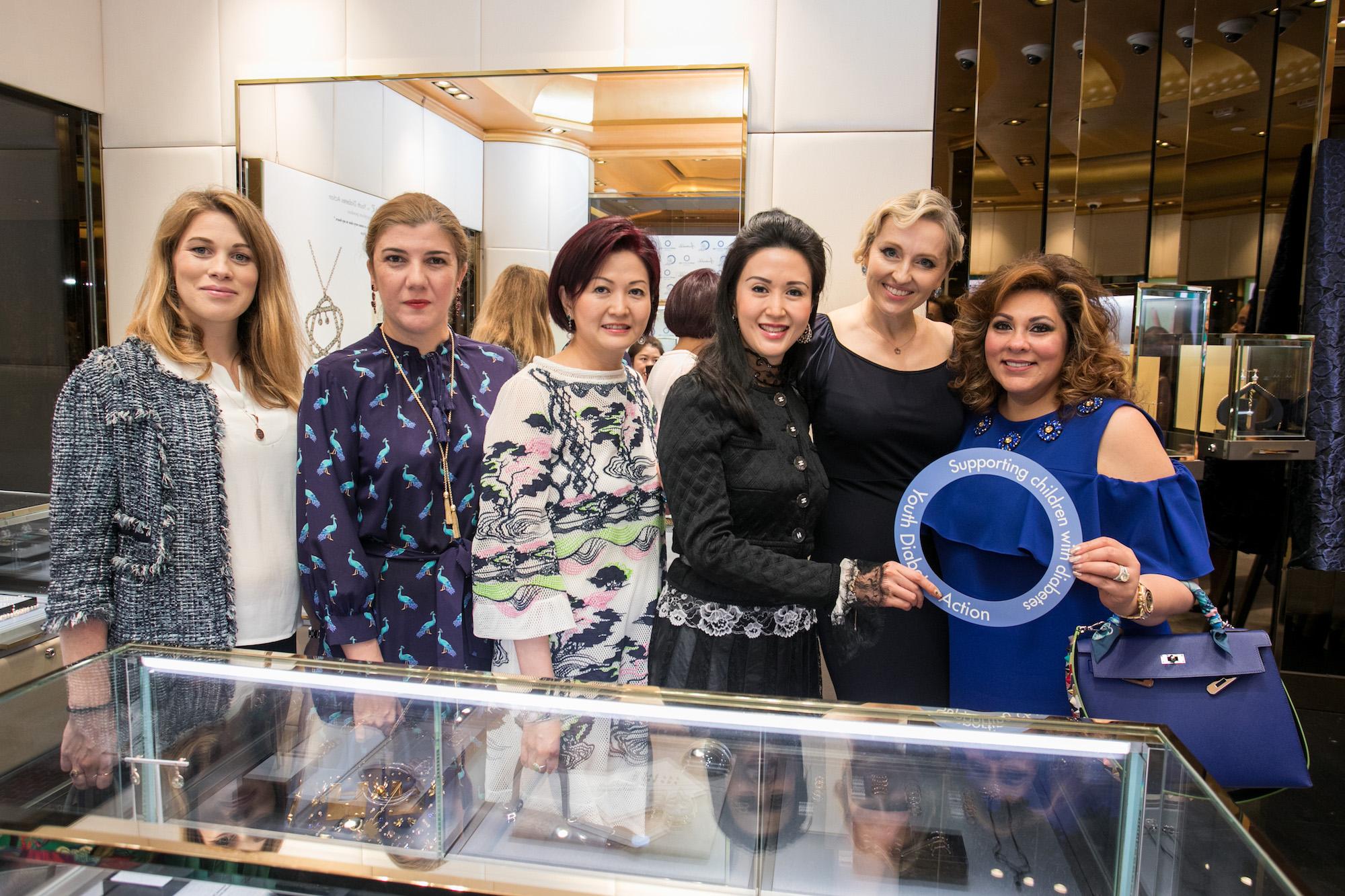 Fiona Buhrer, Janana Suleymanli Pasha, Leta Lau, Lianne Lam, Olga Roh, Rina Wadhwani