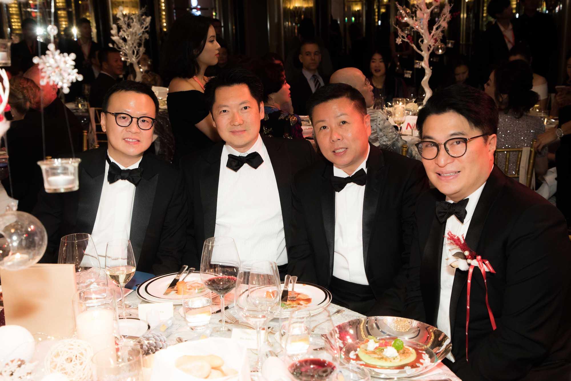 Julian Cheng, Julian Liu, James Louey, Martin Lee
