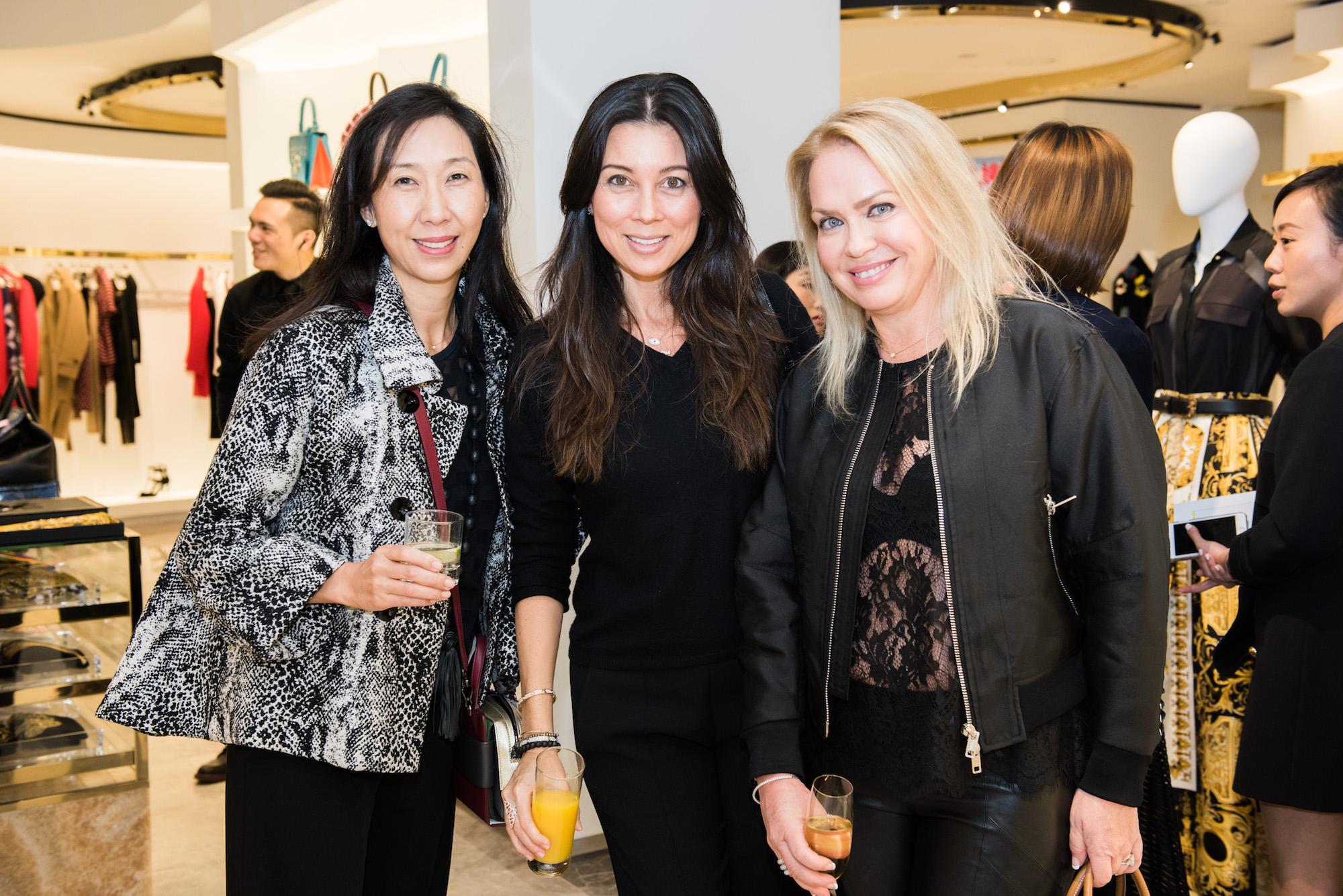 Claudia Ko, Michele Li, Alix Fownes