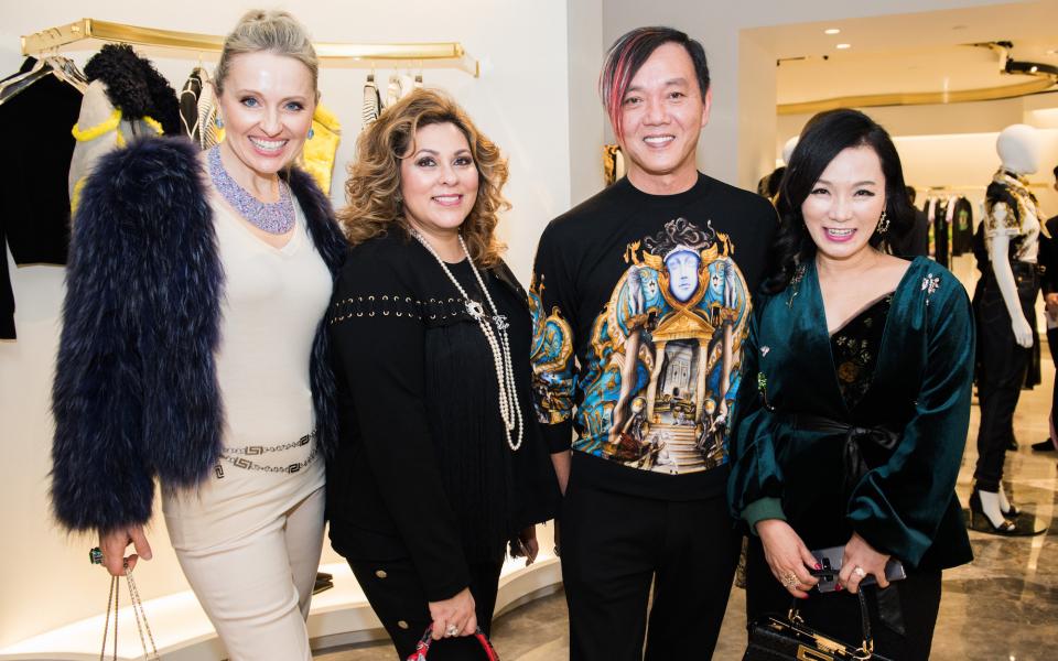 Olga Roh, Rina Wadhwani, Stephen Hung, Rachel Park-Monballiu