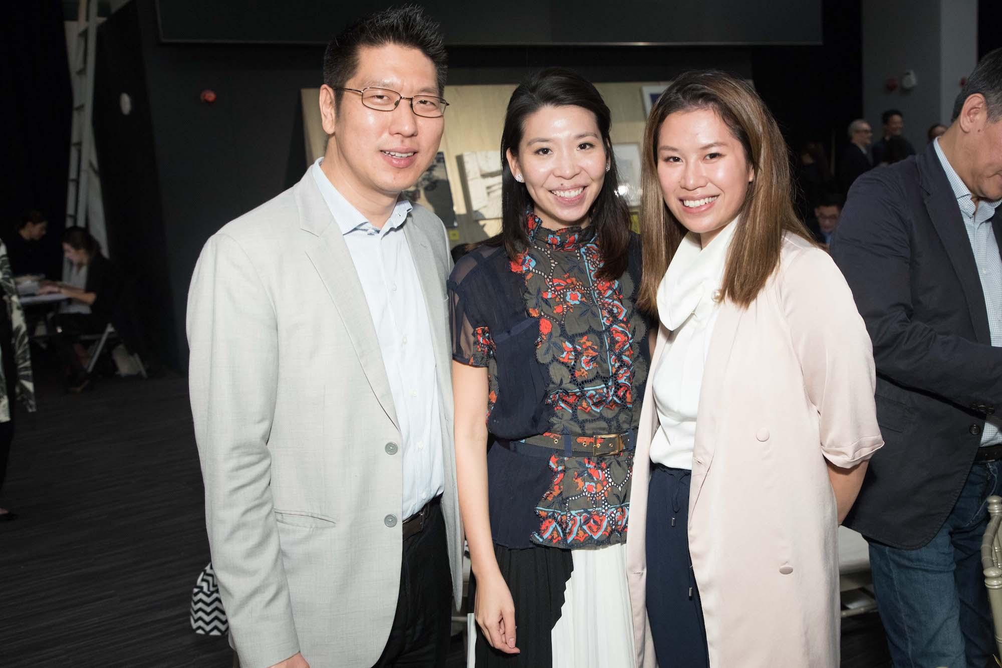 David Tung, Kristine Li, Vince Chan