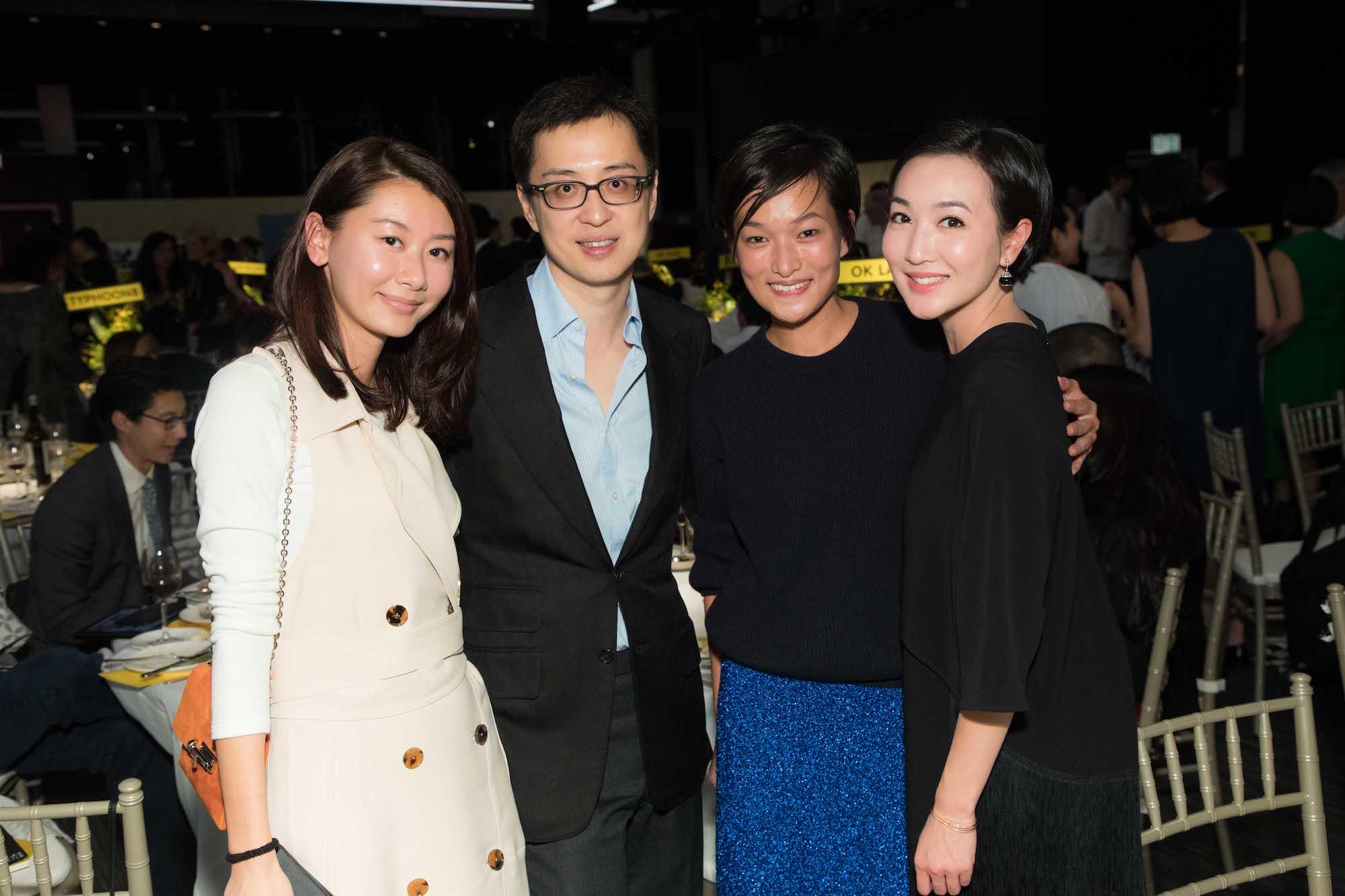 Tobee Lau, Jeffrey Lau, Lorraine Kiang-Malingue, Melissa Fok