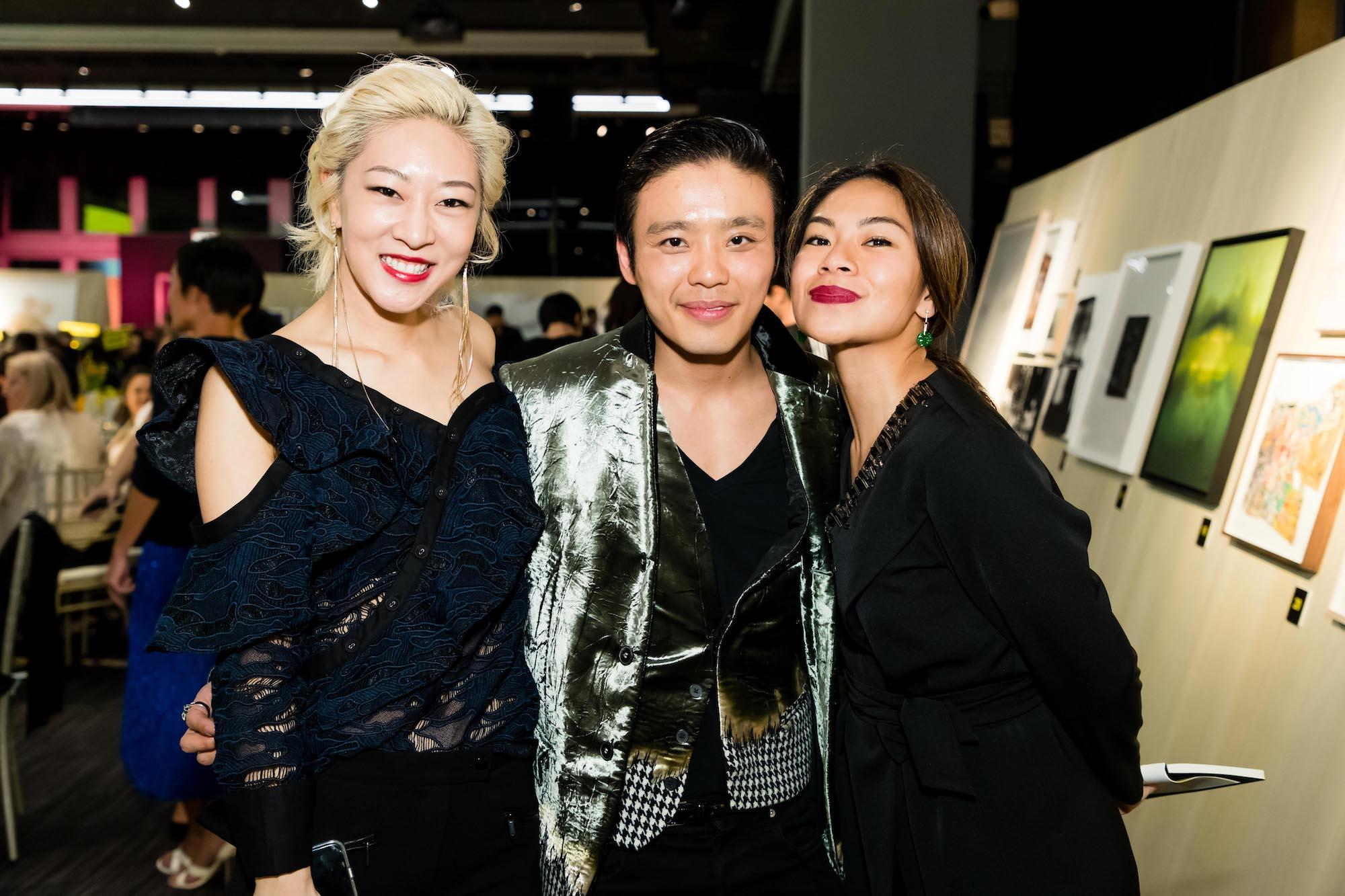 Yvonne Fong, Jonathan Cheung, Galuh Sukardi