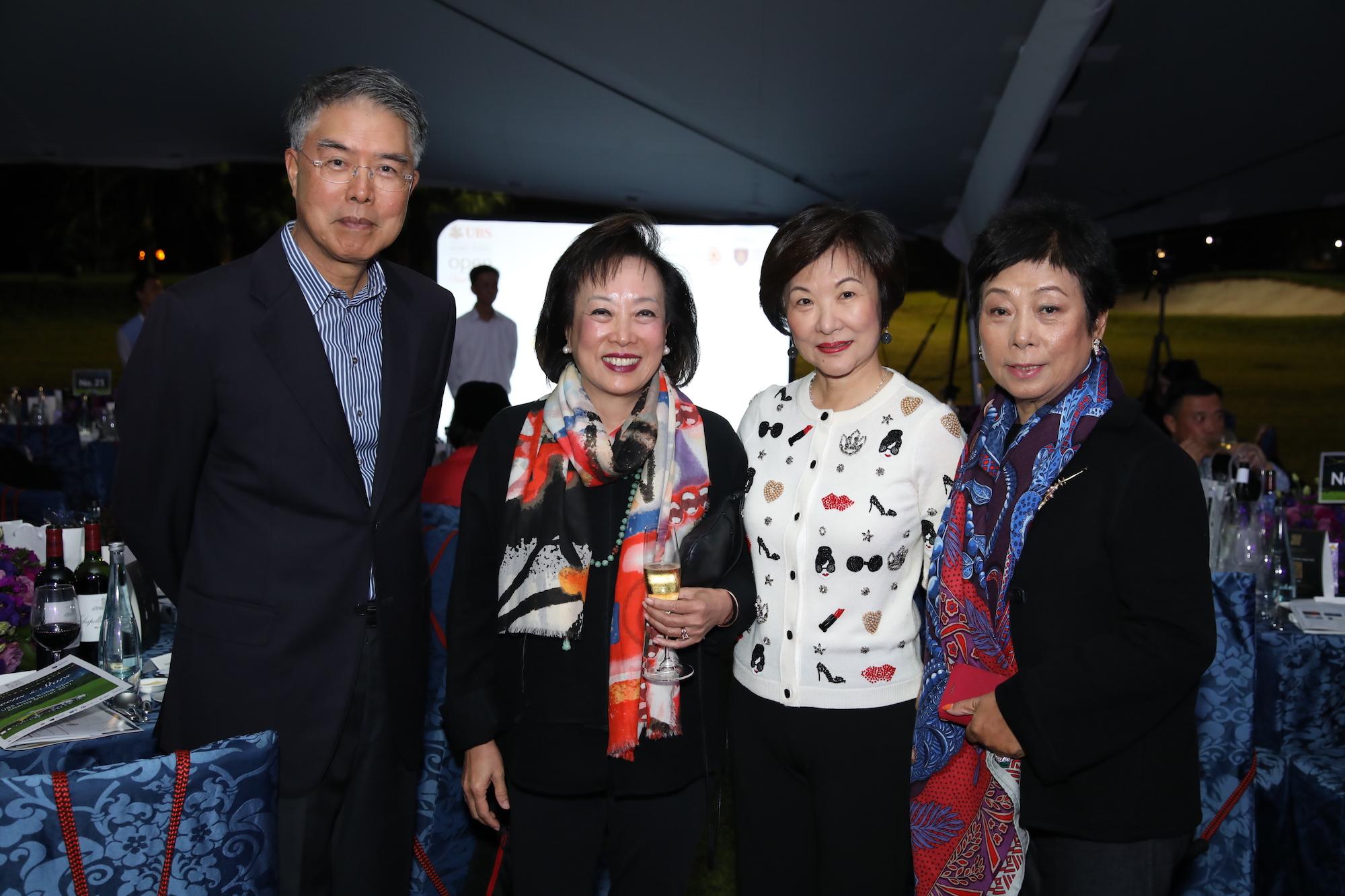 Daniel Chu, Rosanna Wong, Helena Koo, Monita Chu
