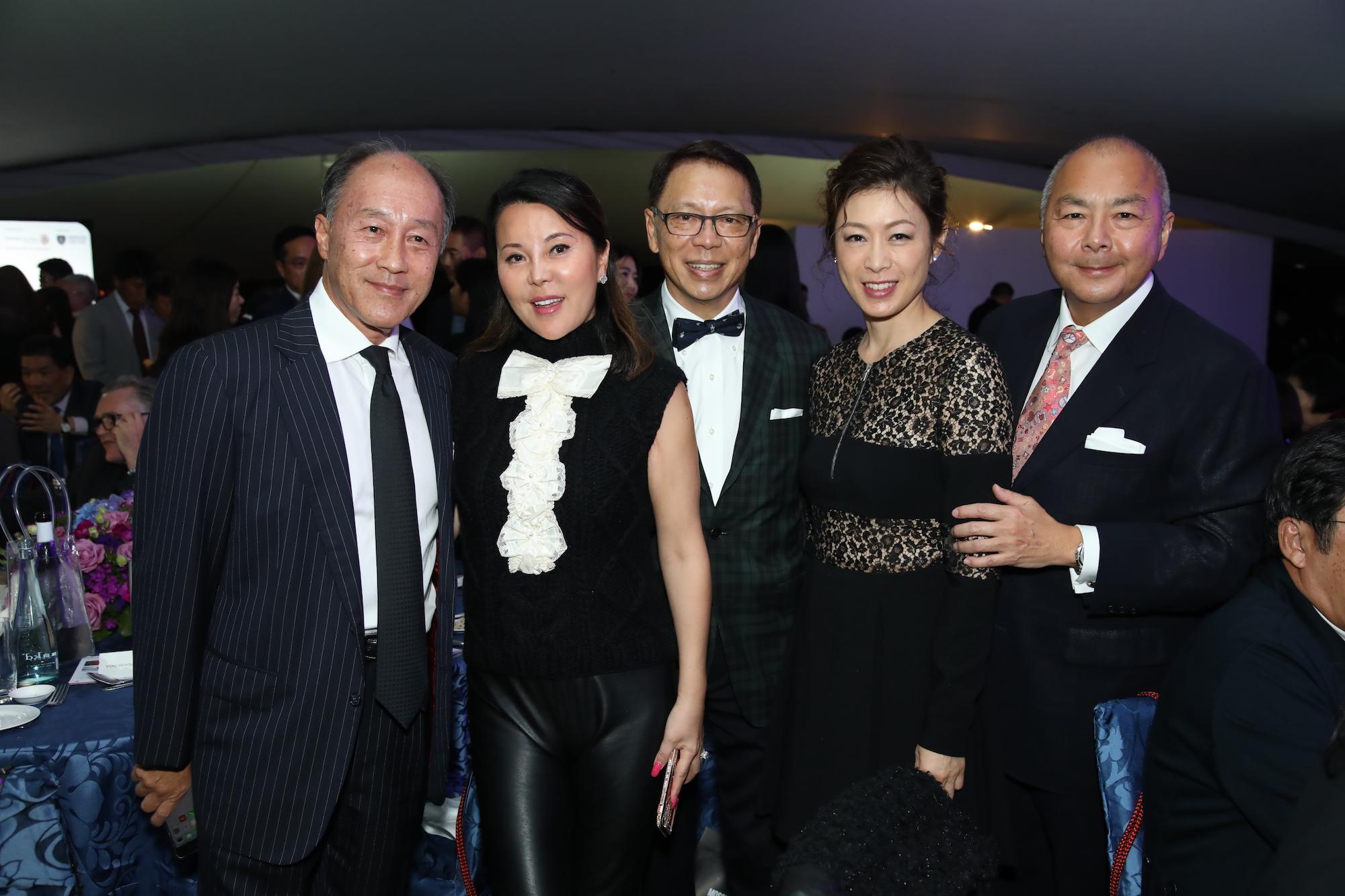 Edmund Li, Yumi Honda, Caleb Chan, Emily Yeung, Joseph Fung