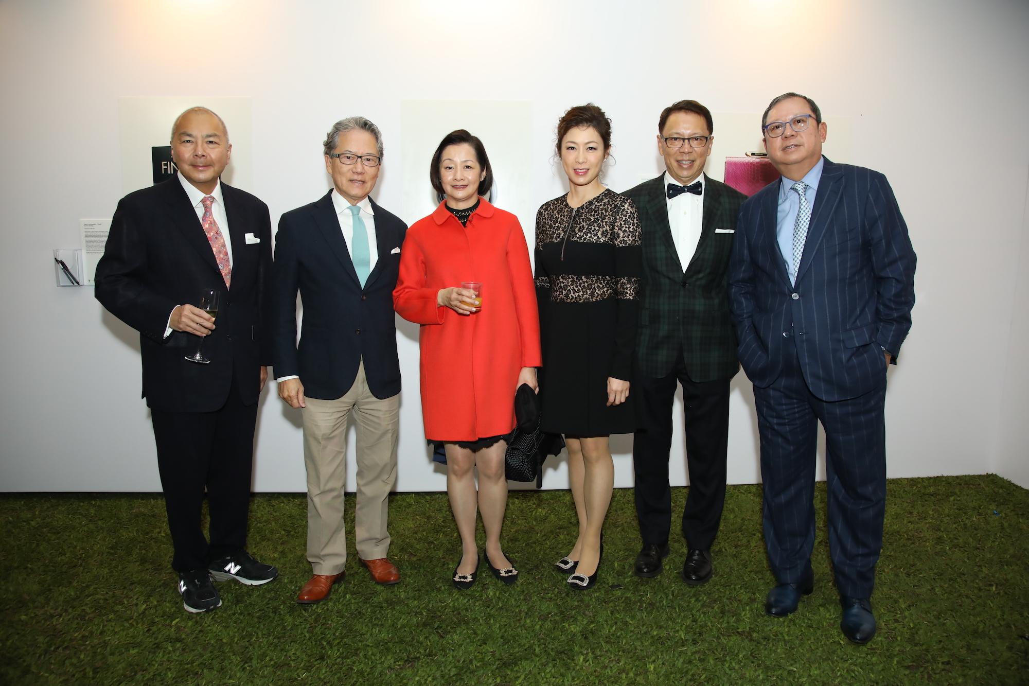 Joseph Fung, Tom Chan, Bonnie Chan, Emily Yeung, Caleb Chan, Peter Lam