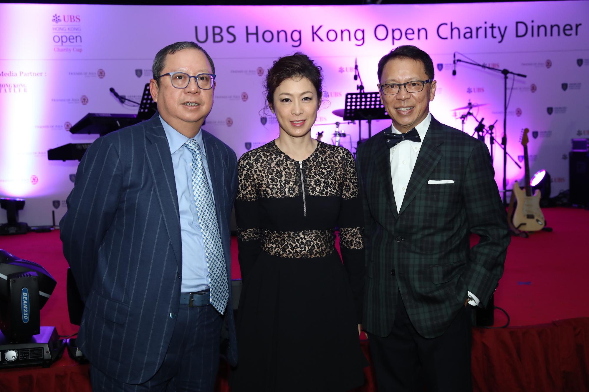 Peter Lam, Emily Yeung, Caleb Chan