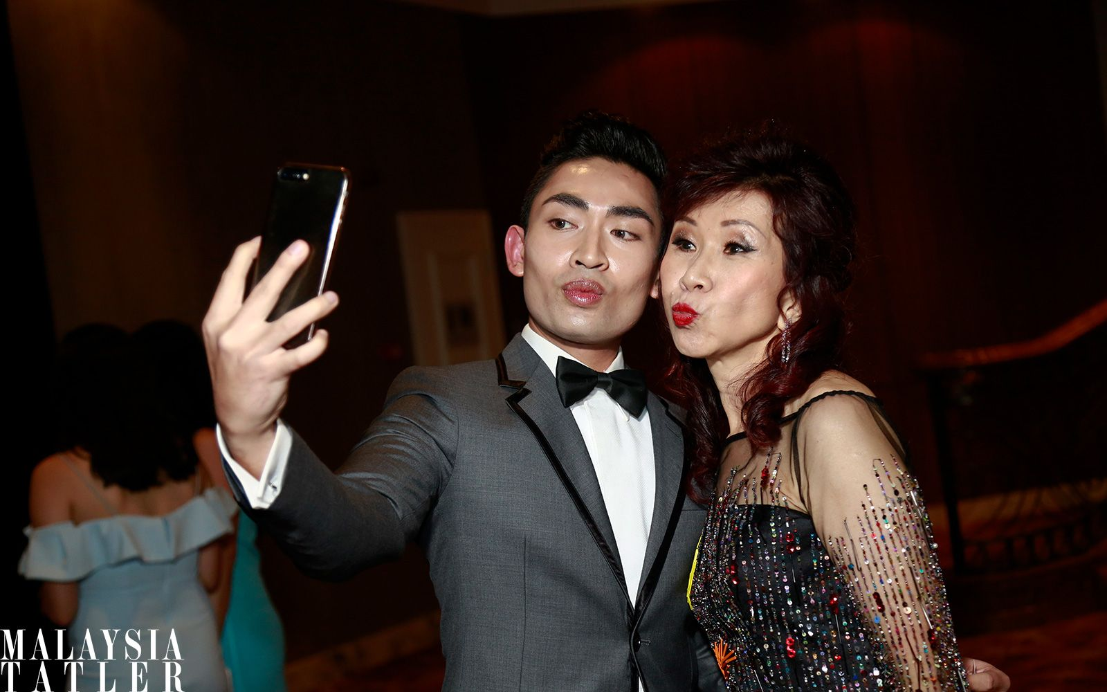 Aliff Hazwan and Florence Fang