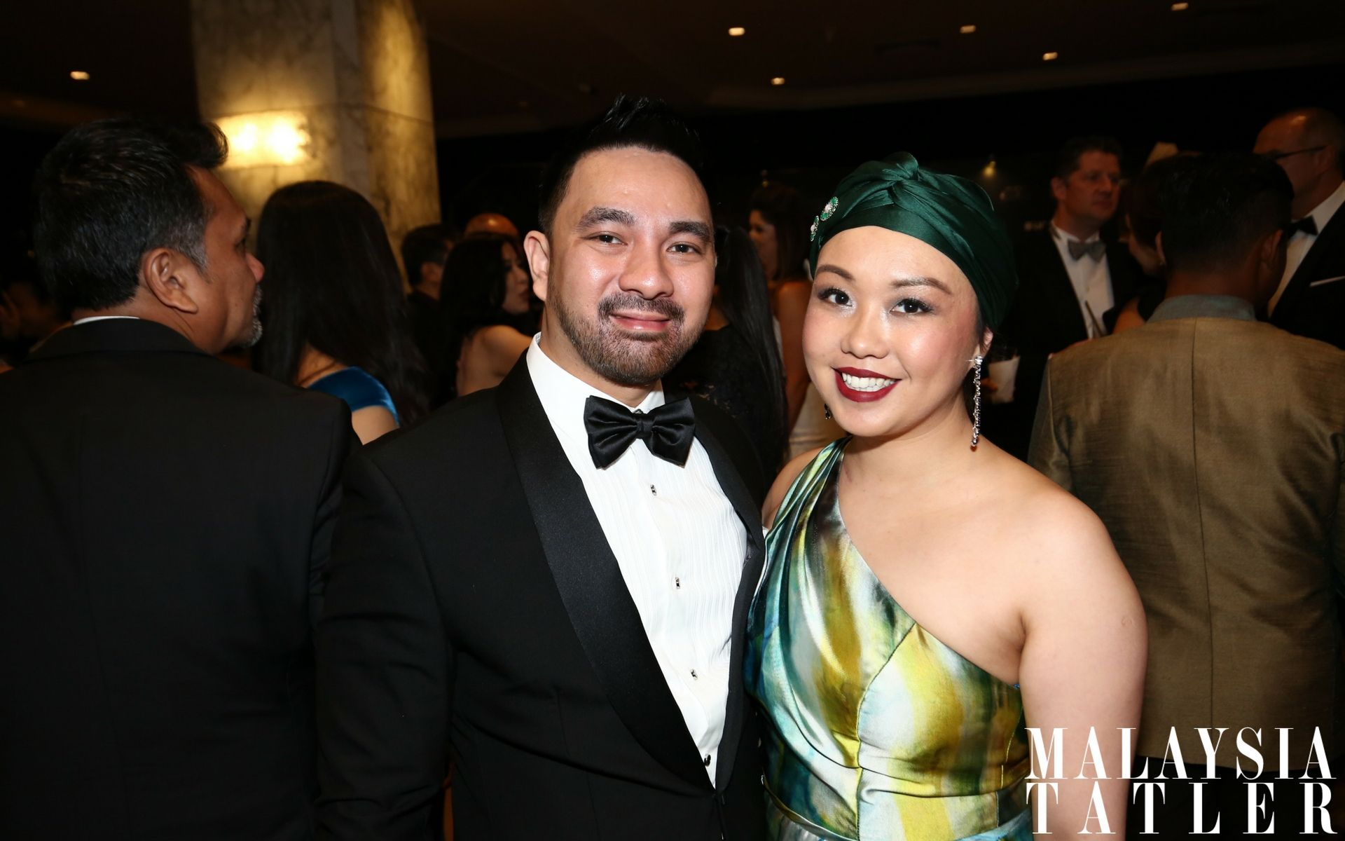 Azrul Izham and Malisse Tan