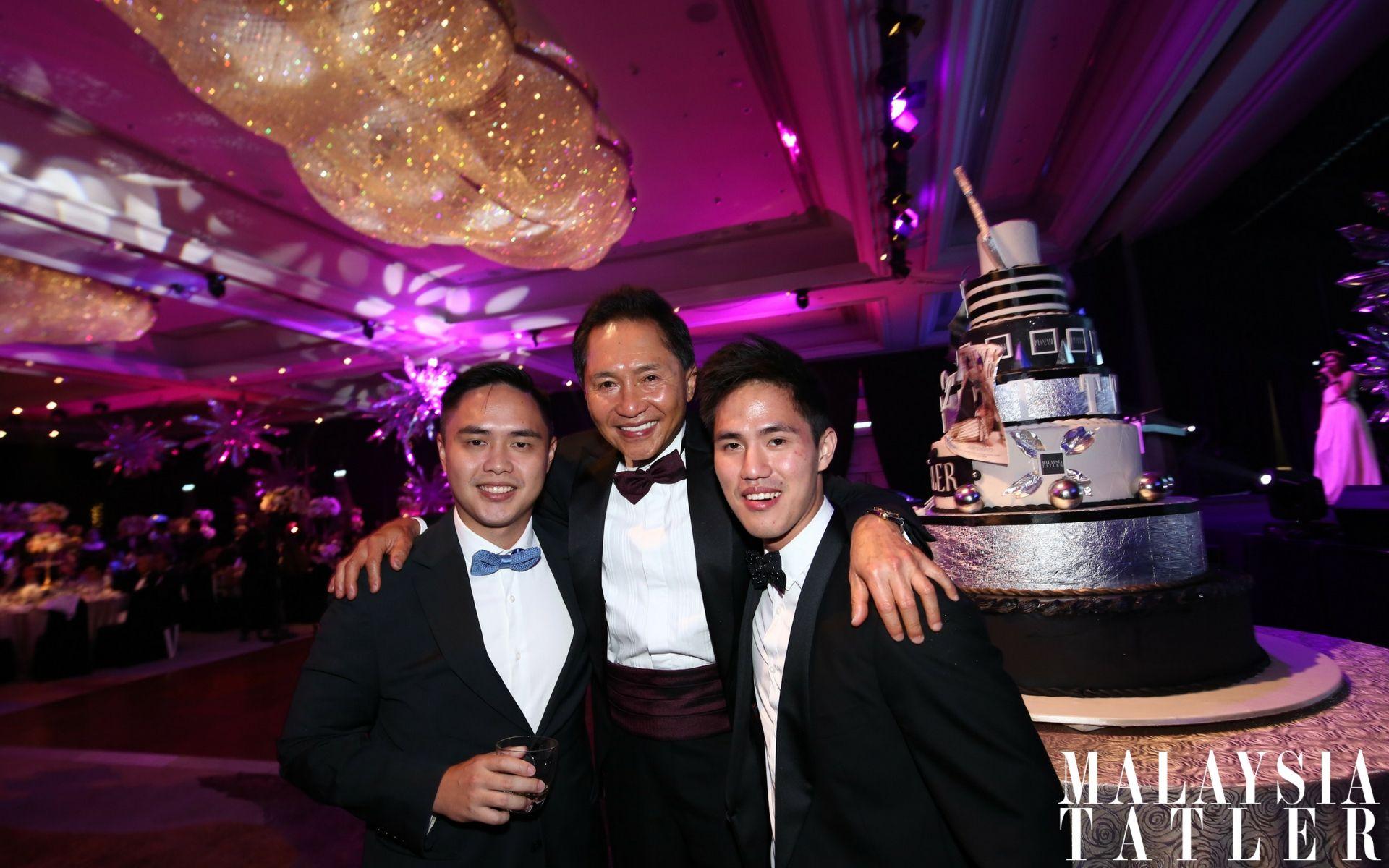 Brian, Fred and Mark Choo