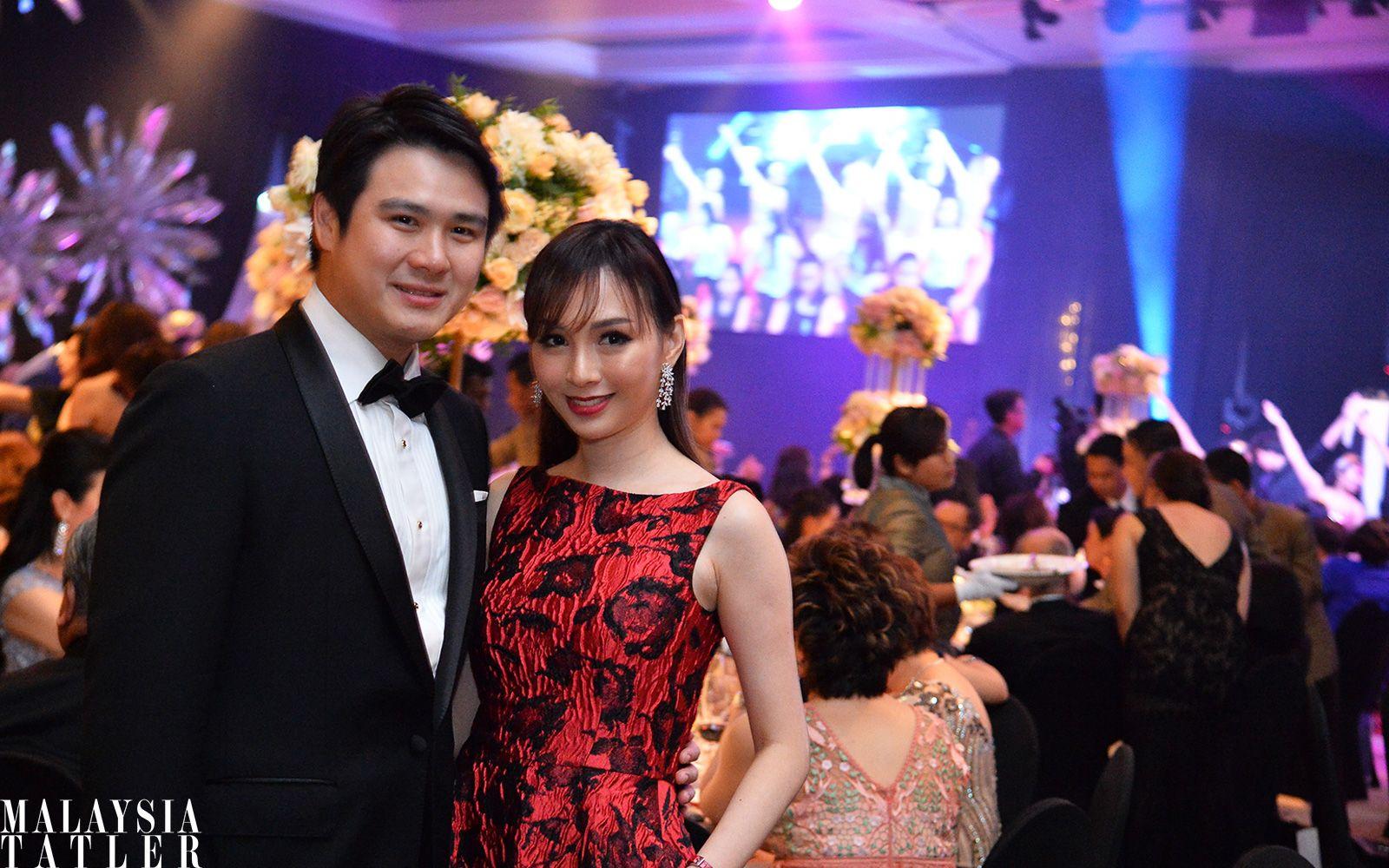 Dato' Sri Daniel Chiang and Datin Sri Linda Chen