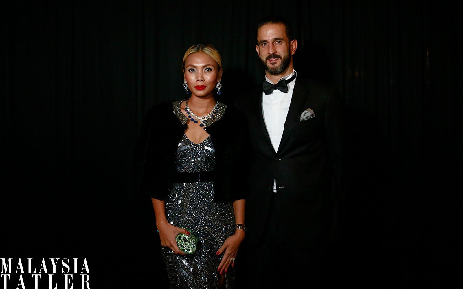 Esha Geneid and Joseph Afaki