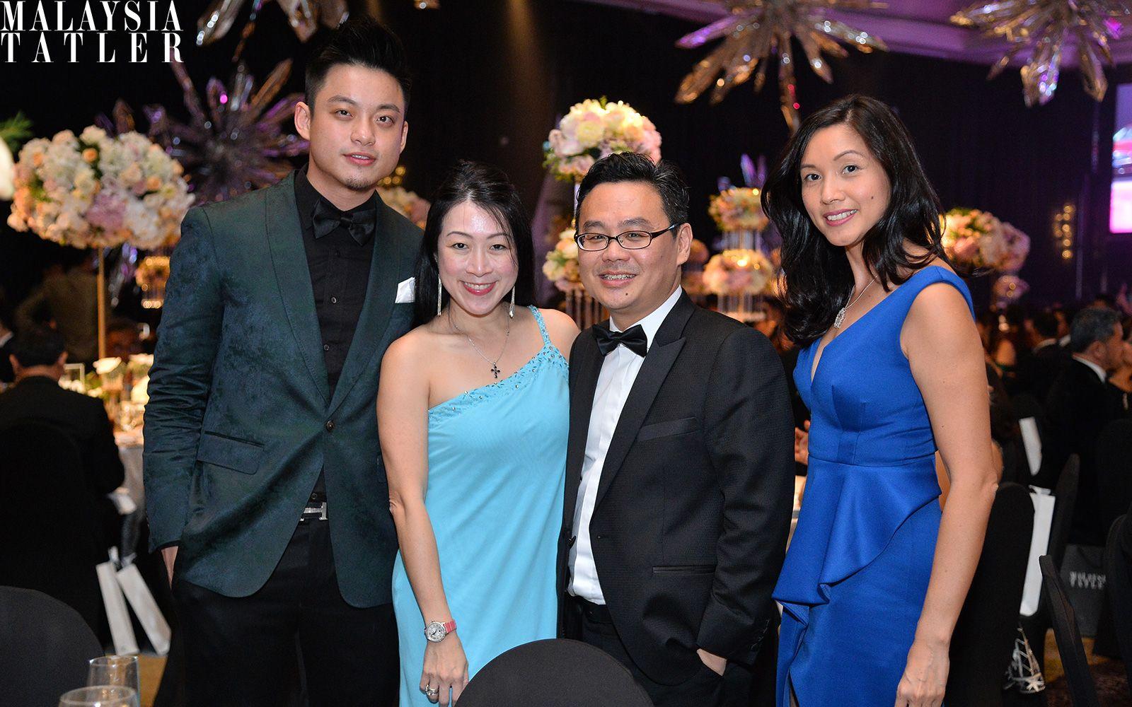 Jayden Liew, Reena Tan, Jason Tham and Amy Chia