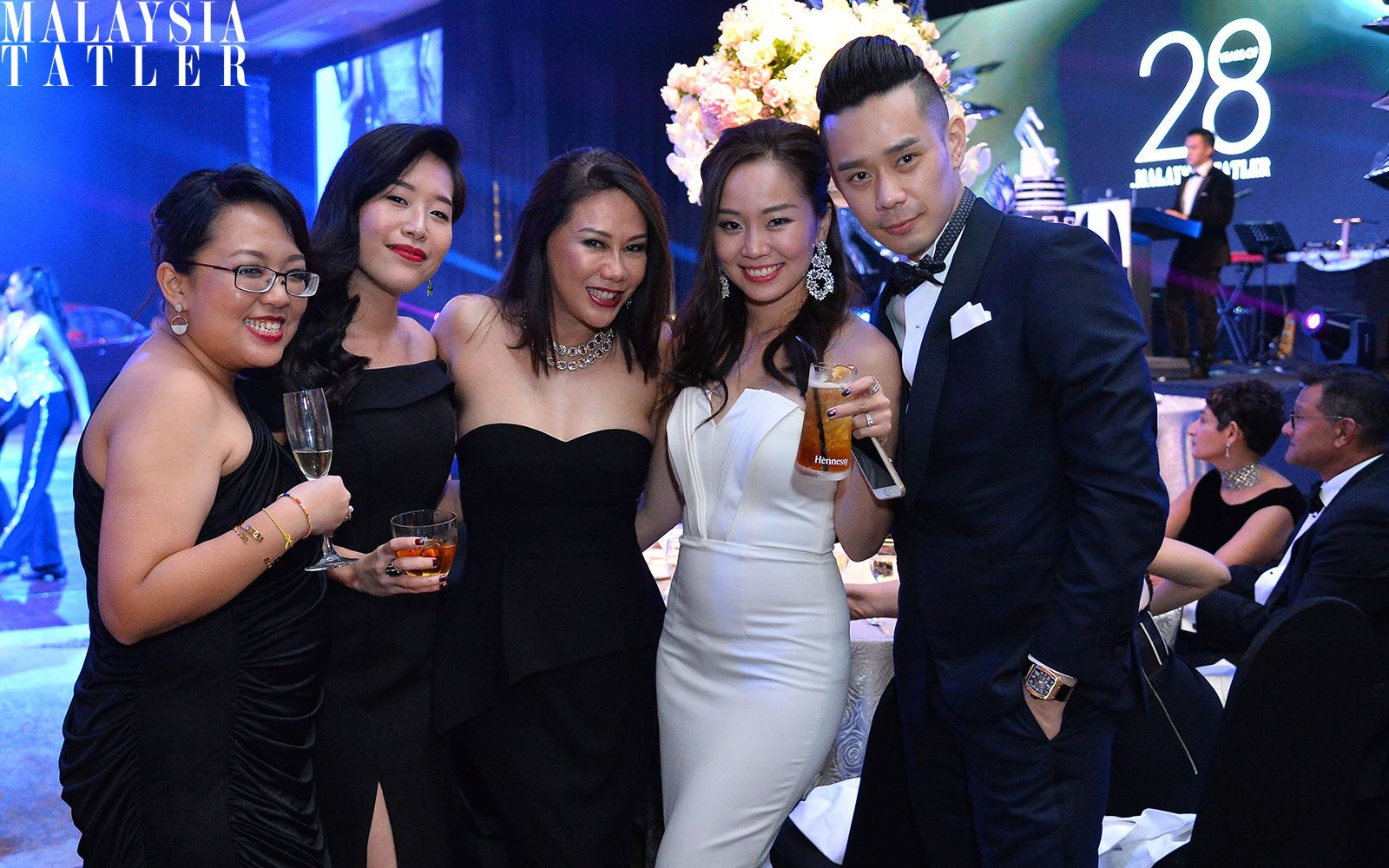 Lily Ong, Jean Goon, Michele Kwok, Jady Teoh and Mah Kok Wah