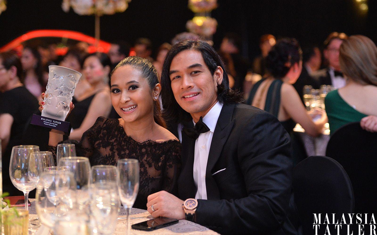 Nadia Nasimuddin and Hamzah Alang