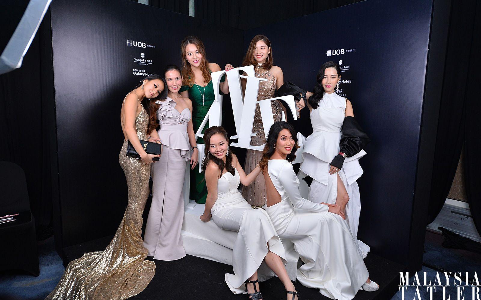 Rebekah Yeoh, Geraldine Dreiser, Valerie Ong, Jady Teoh, Valene Tan, Dr Andrea Lim and Levy Li