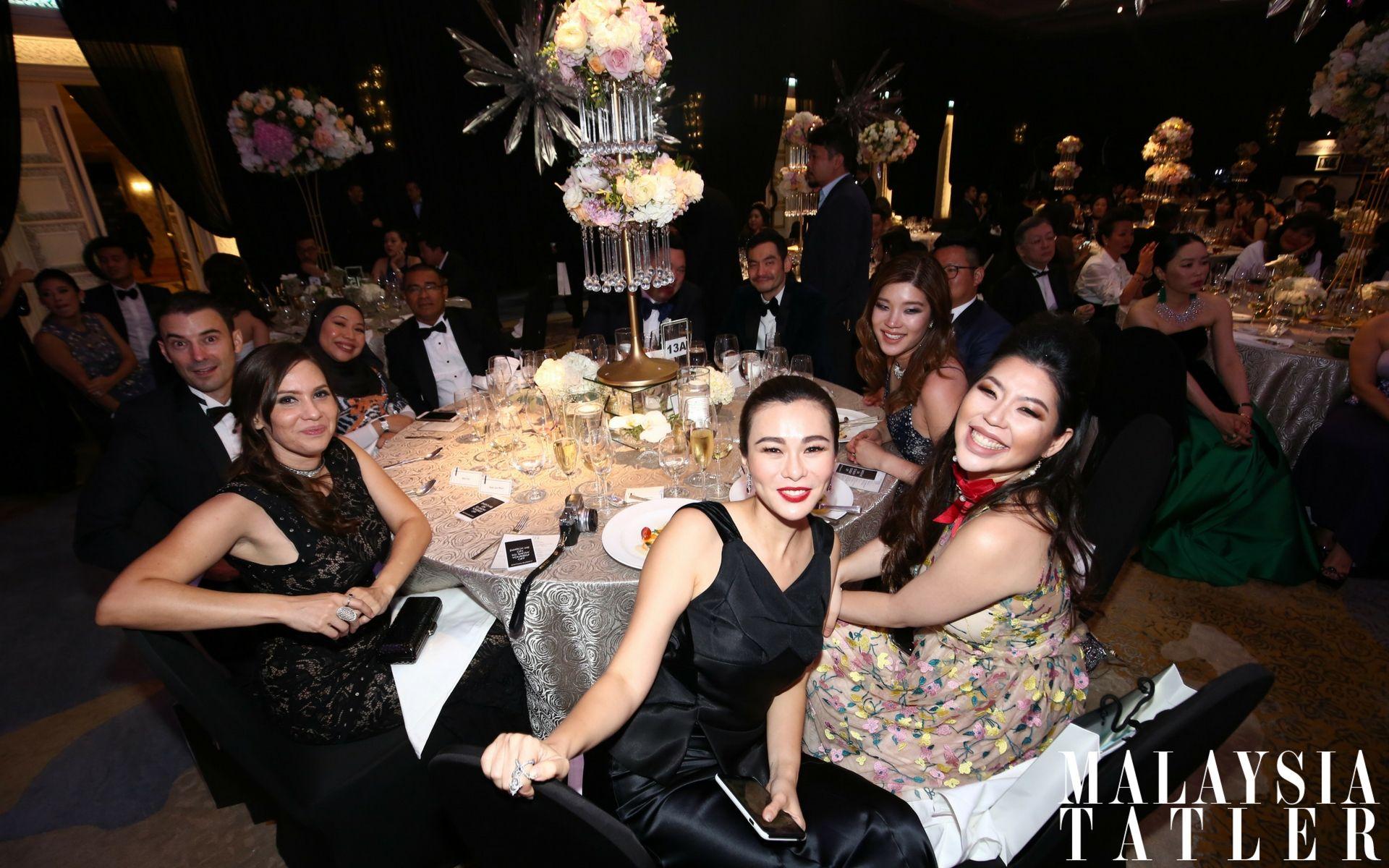 Ricki Fritz, Baida Hercus, Datin Dian Lee, Elizabeth Lee-Yong and Shen-Tel Lee