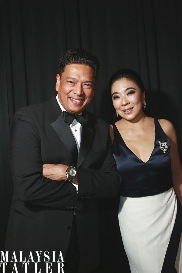 Yohan Rajan and Lim Wei-Ling