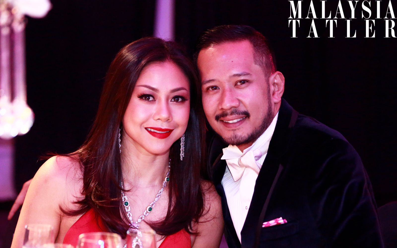 Datin Sabrena Khalid and Datuk Wira Dani