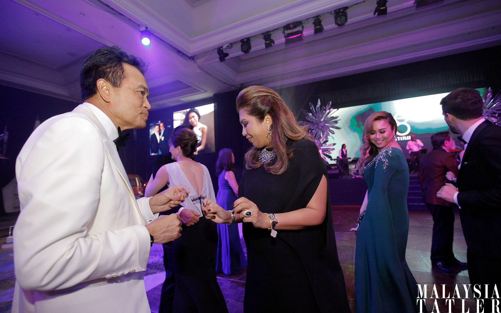Dato' Sufian Majid and Datin Alissa Fitri