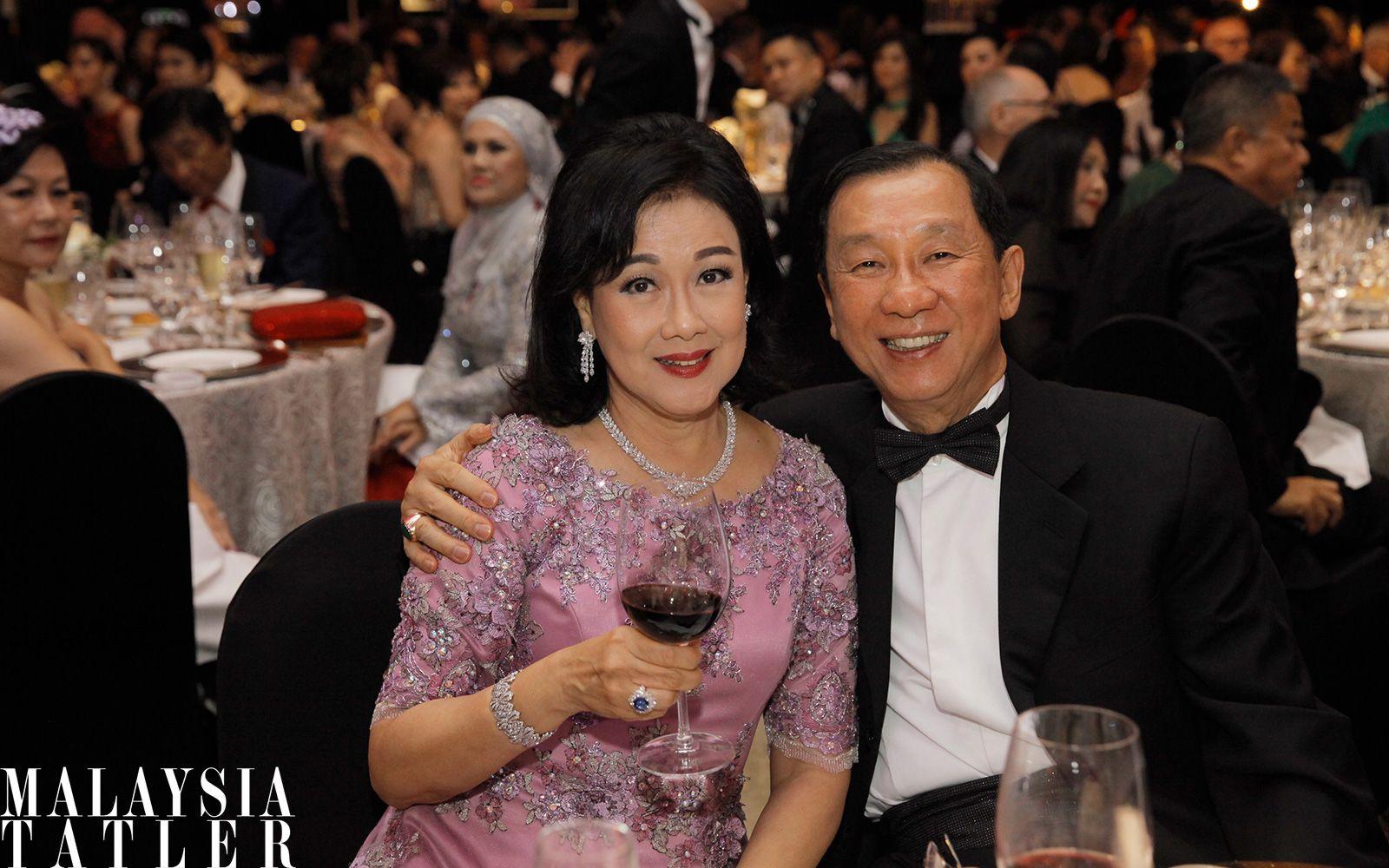 Puan Sri Ivy Tan and Tan Sri Danny Tan