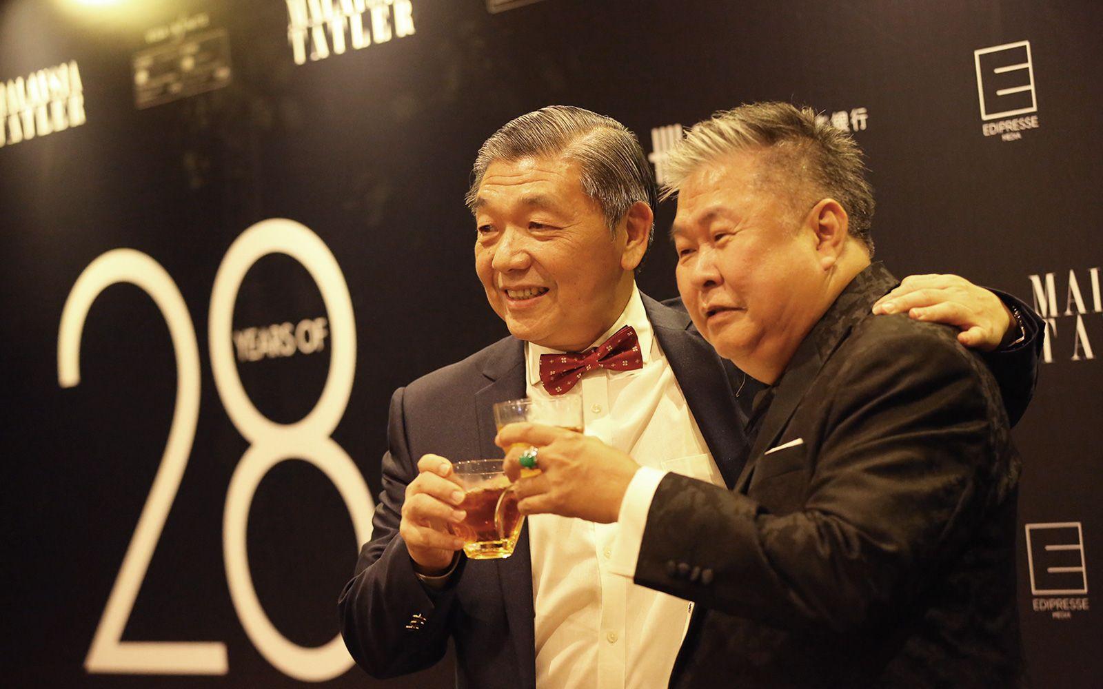 Tan Sri Teo Chiang Hong and Dato' YK Lee