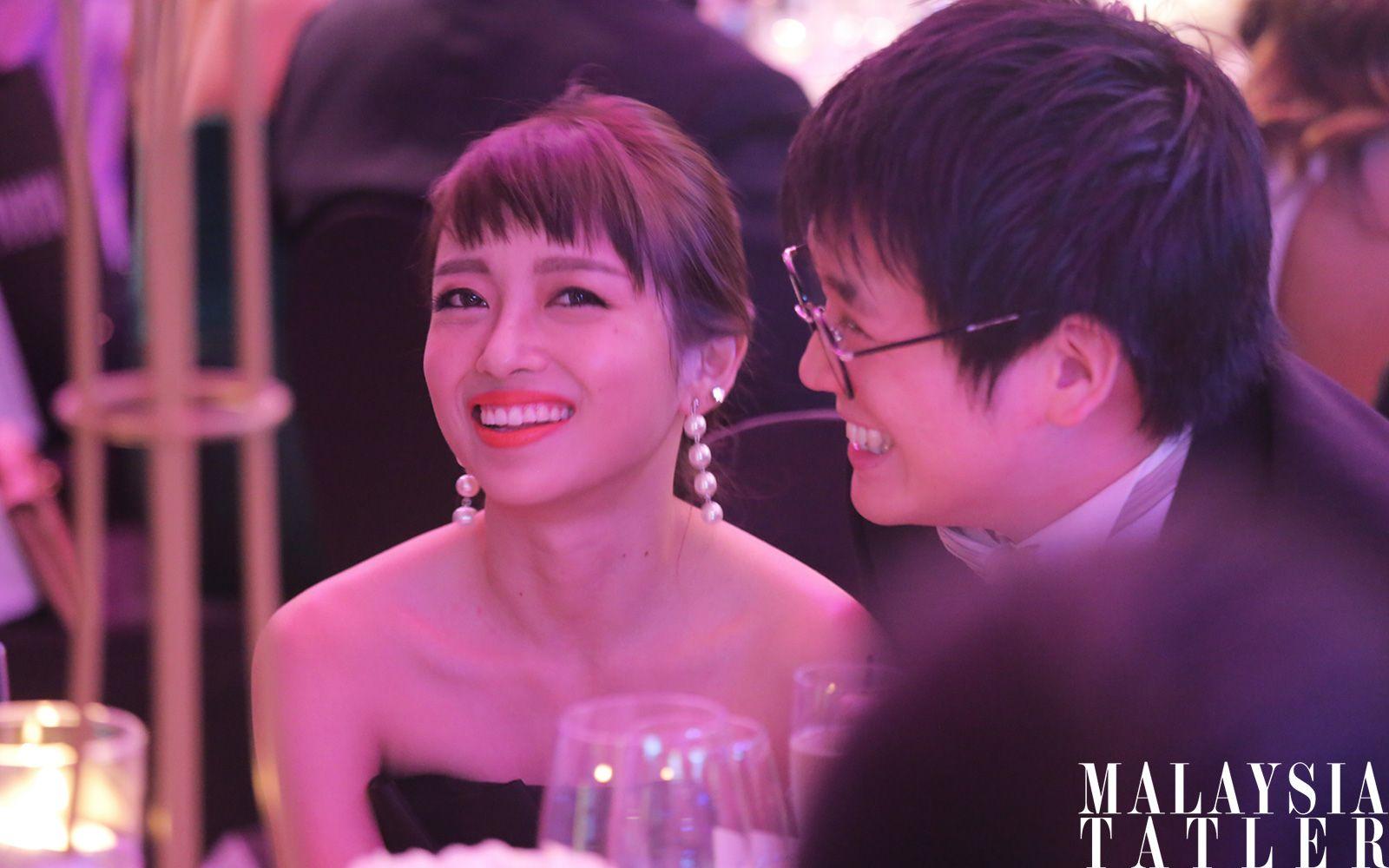 Audrey Ooi and Timothy Tiah