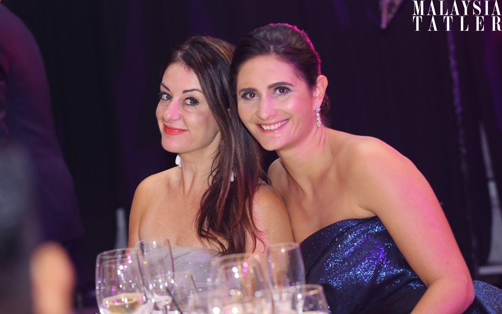 Clare Tipton and Magali Auberhard