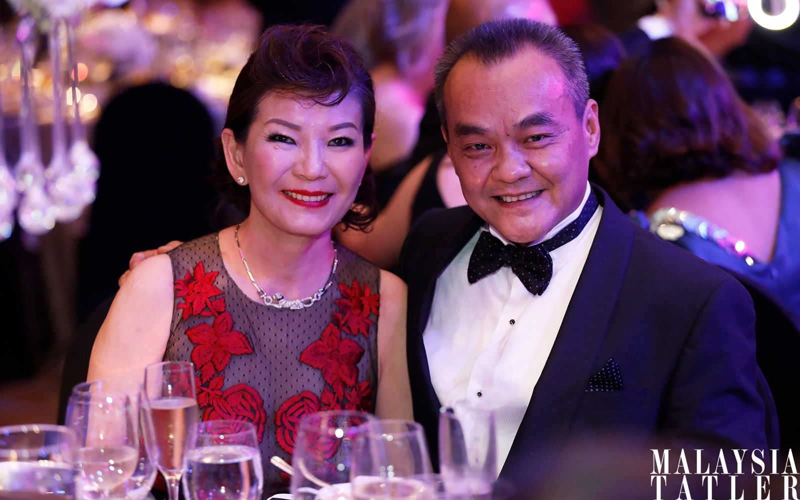 Datin Kate and Dato' Eric Ong