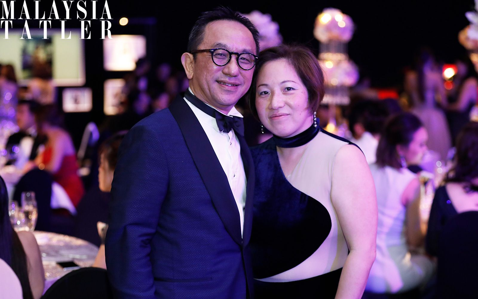 Dato' Lai Voon Hon and Datin Lisa Lai
