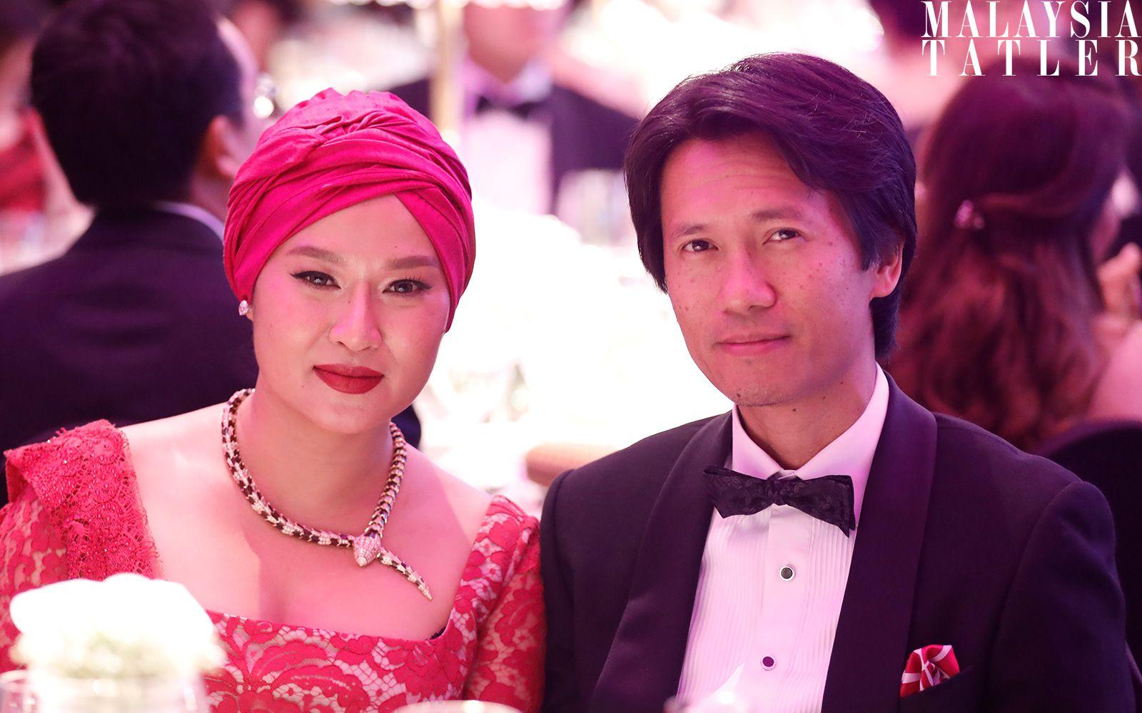 Dato' Sri Rozita Ramelan and Datuk Omar Mustapha