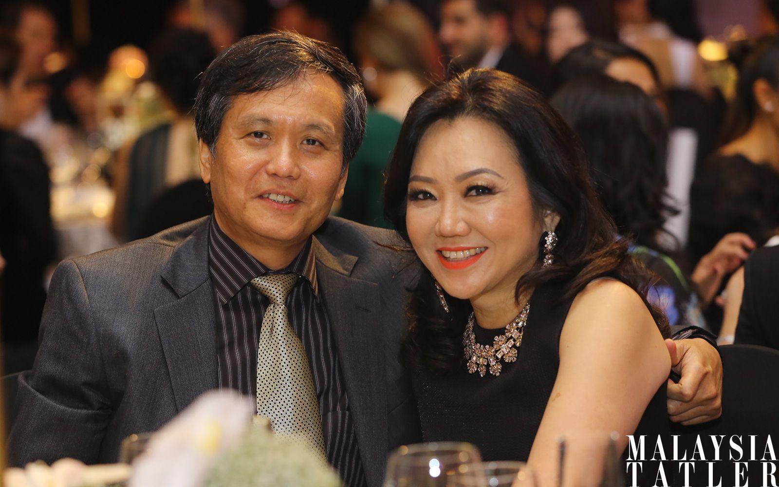 Dr Tan Boon Khim and Dato' Kong Sooi Lin
