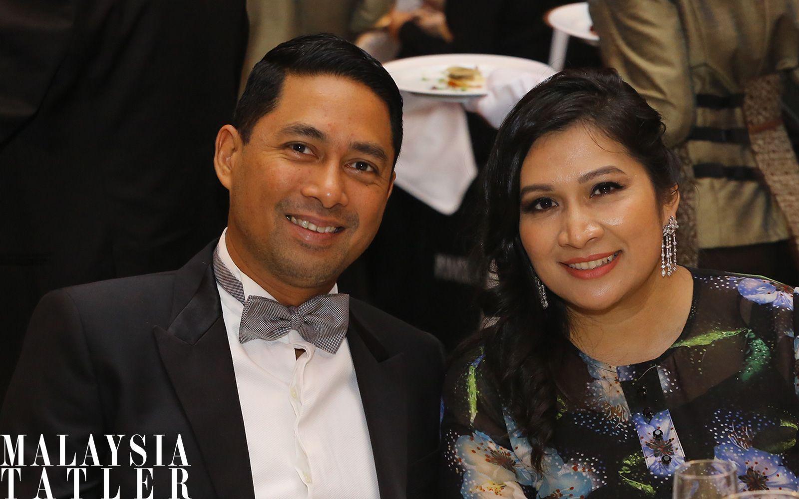 Erwin Dato' Azizi and Ferasha Nazri Aziz