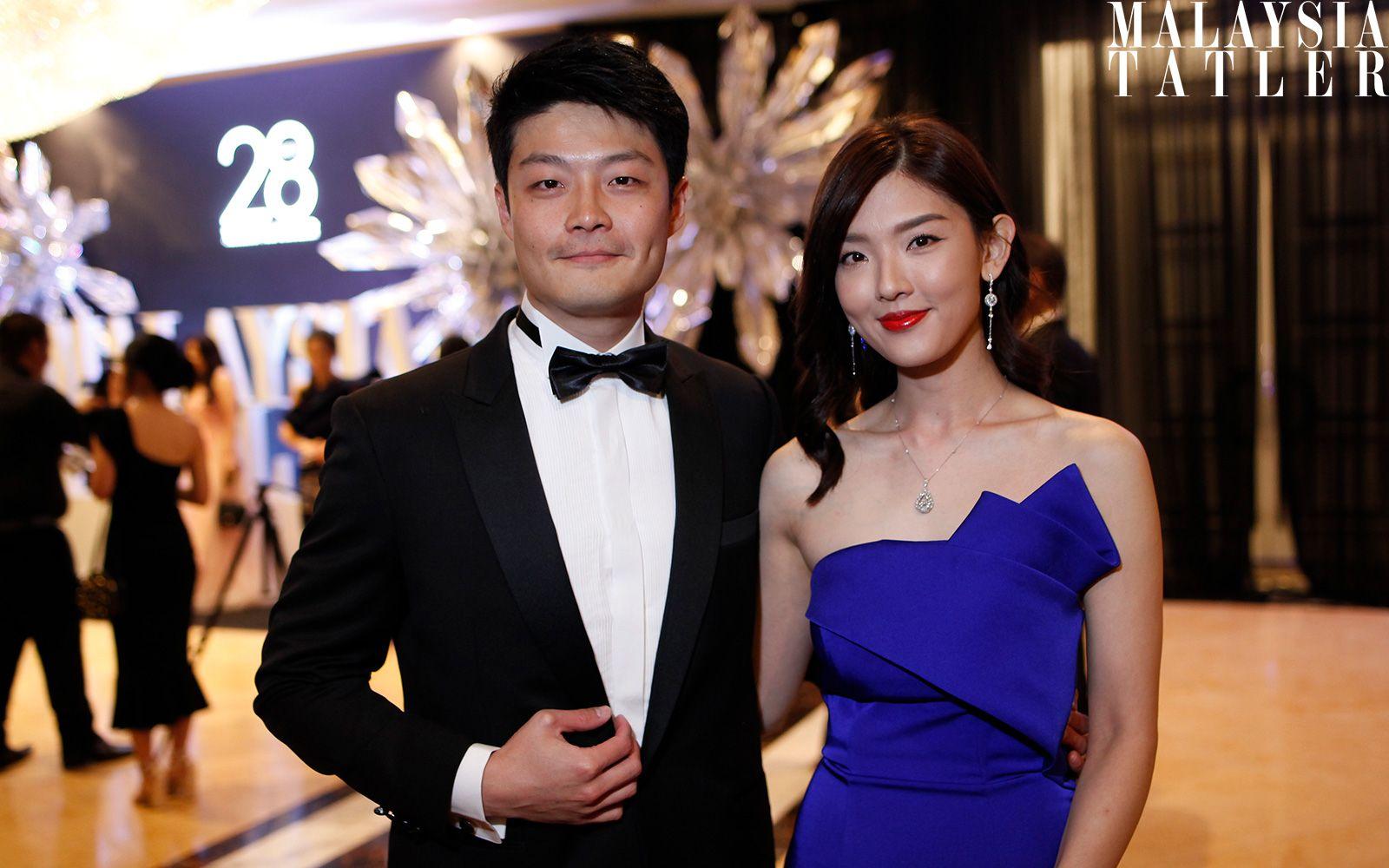Gavin Li and Goh Yen Yen