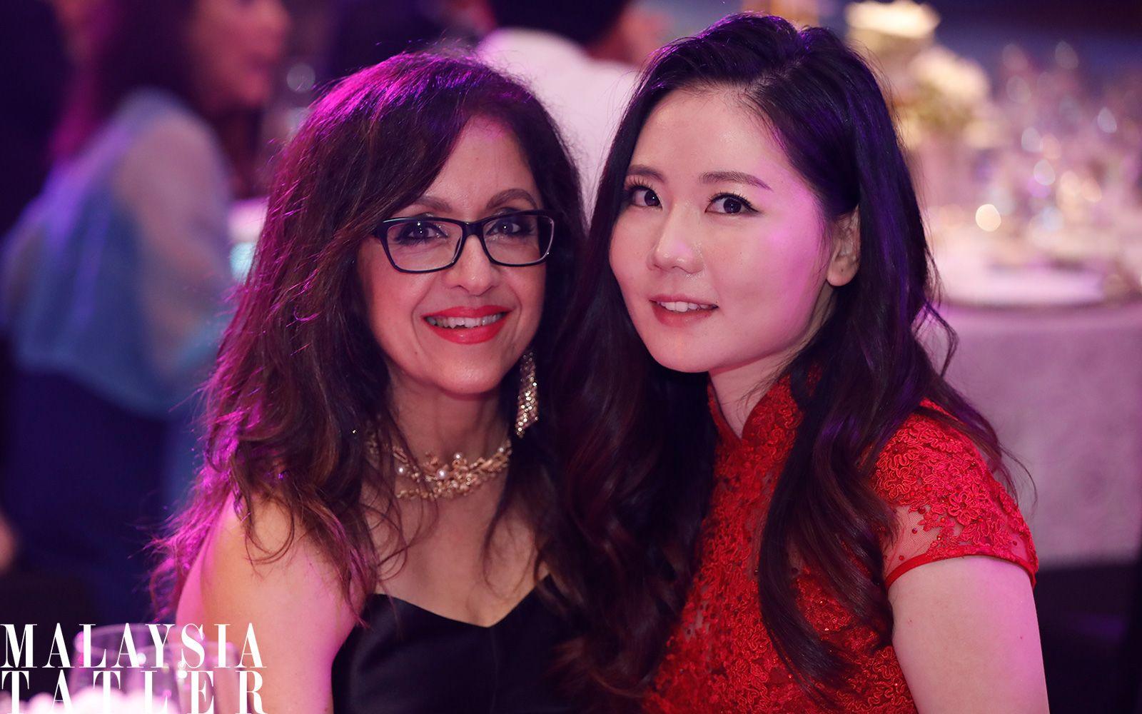 Kiran Jessal and Mei Lan