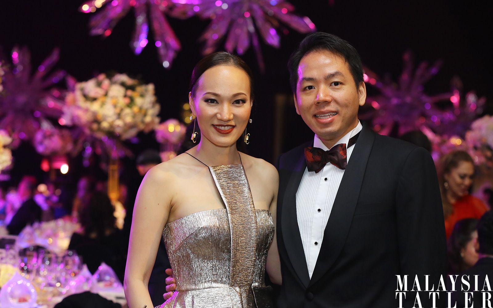 Kristine Goh and Tan Boon Seng