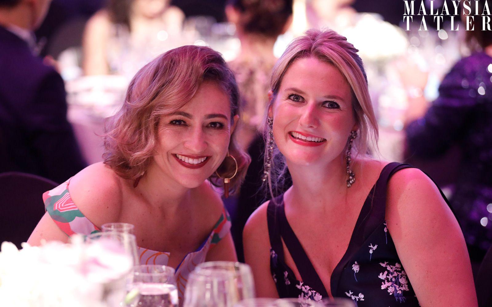 Lisette Scheers and Zoe Chaplin