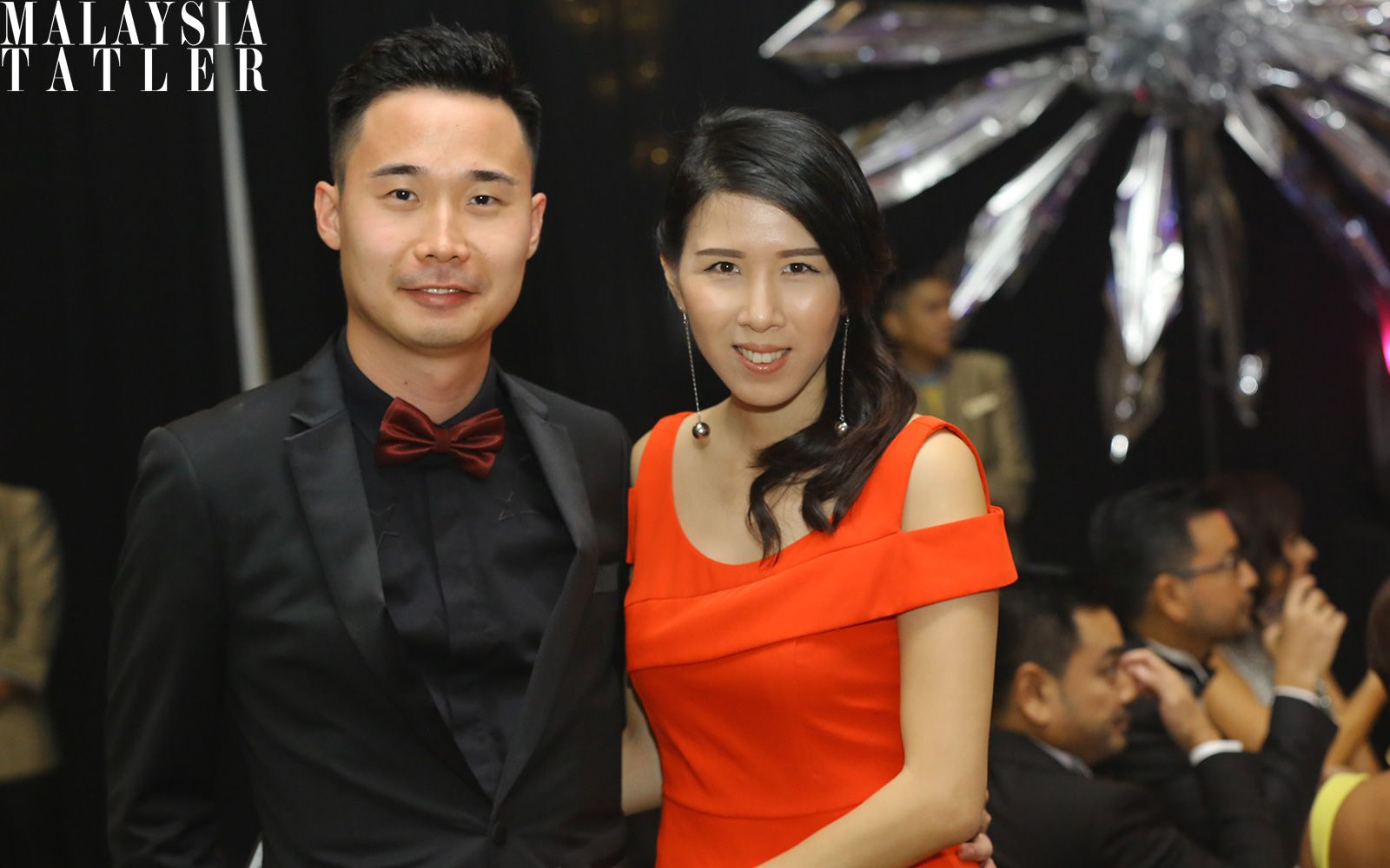 Matthew Lim and Clairyn Chong
