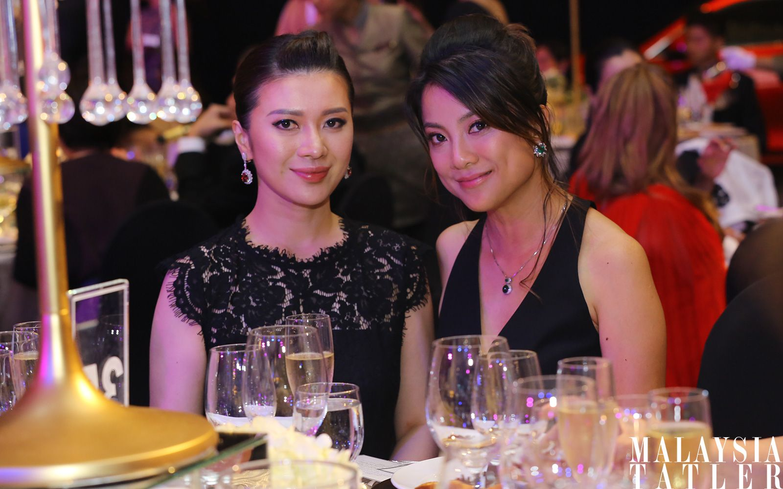 Michelle Ang and Lee Huei Min
