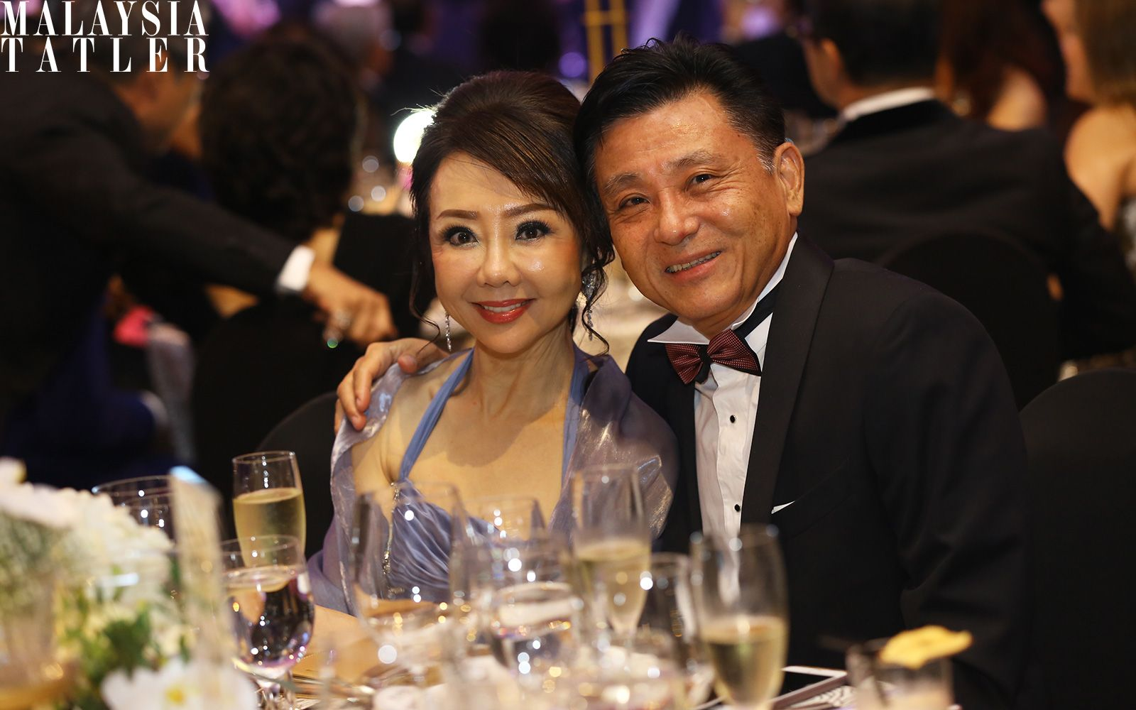 Sylvia Chew and Law Chin Wat