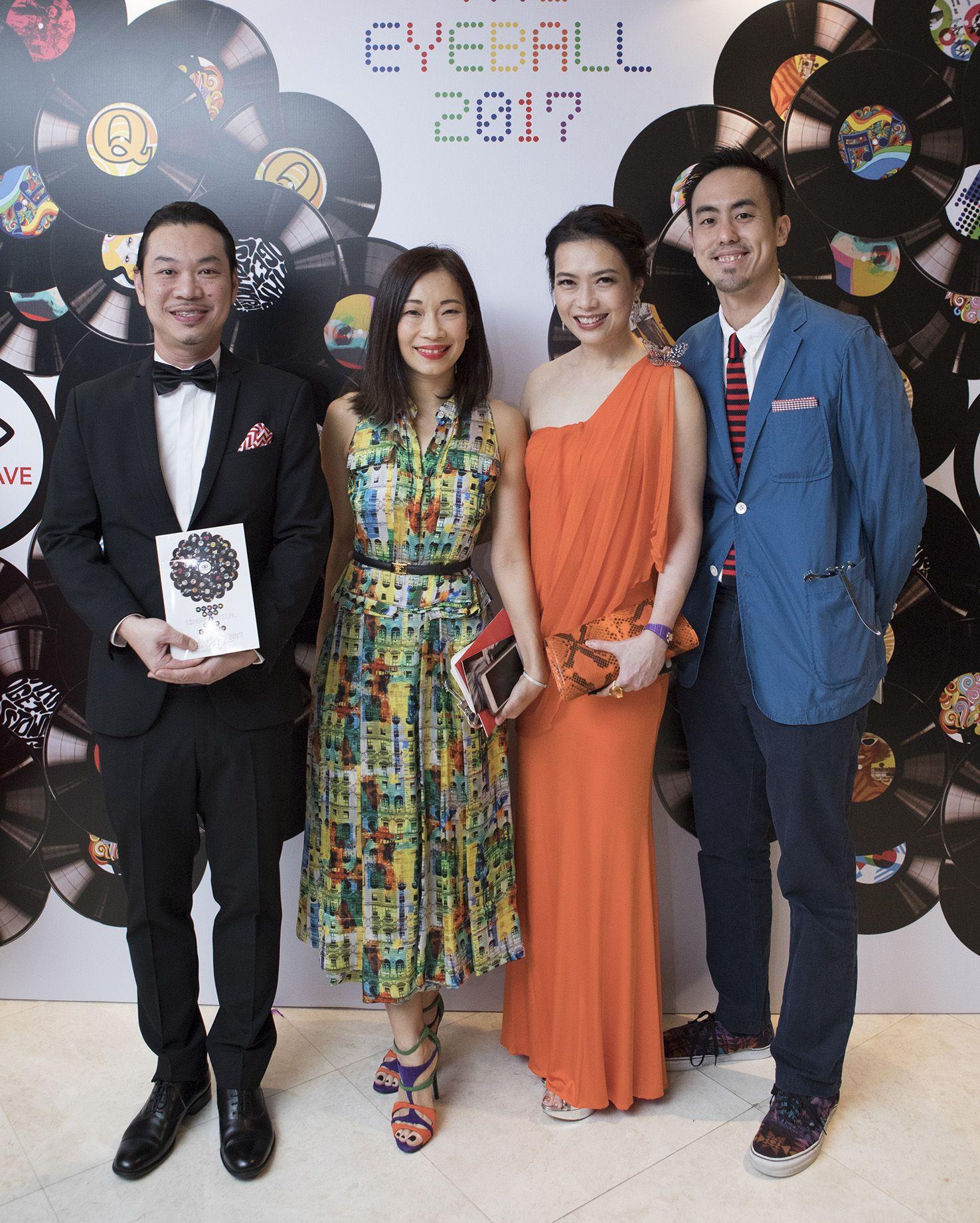 Desmond Lee, Corinne Ng, Ho Ching Lin, Terence Lim