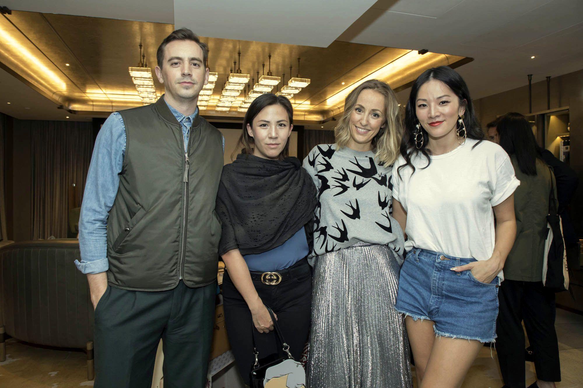 Christopher Owen, Victoria Tang-Owen, Fanny Moizant, Tina Leung