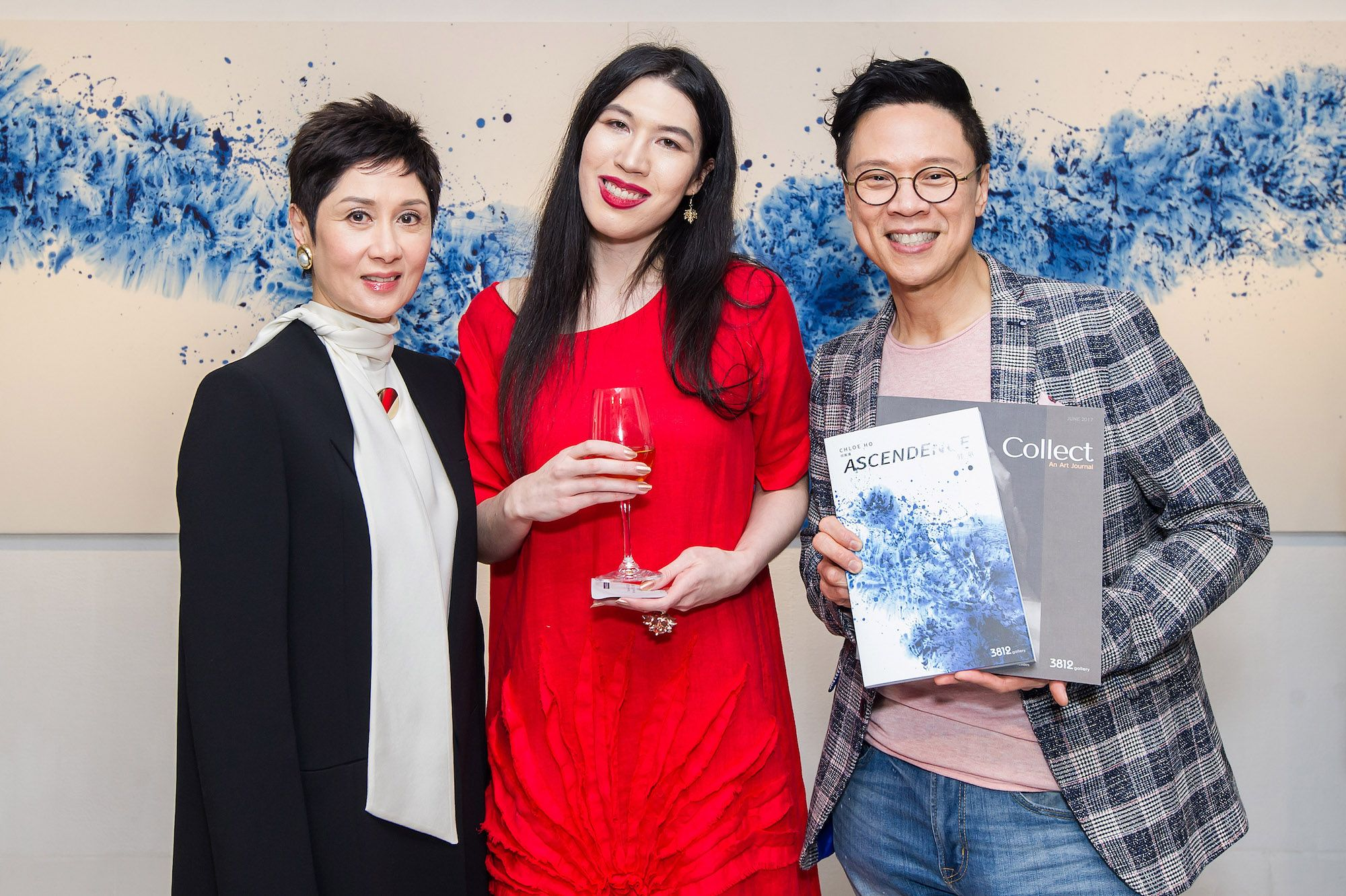 Michelle Ong, Chloe Ho, Stephen Chen