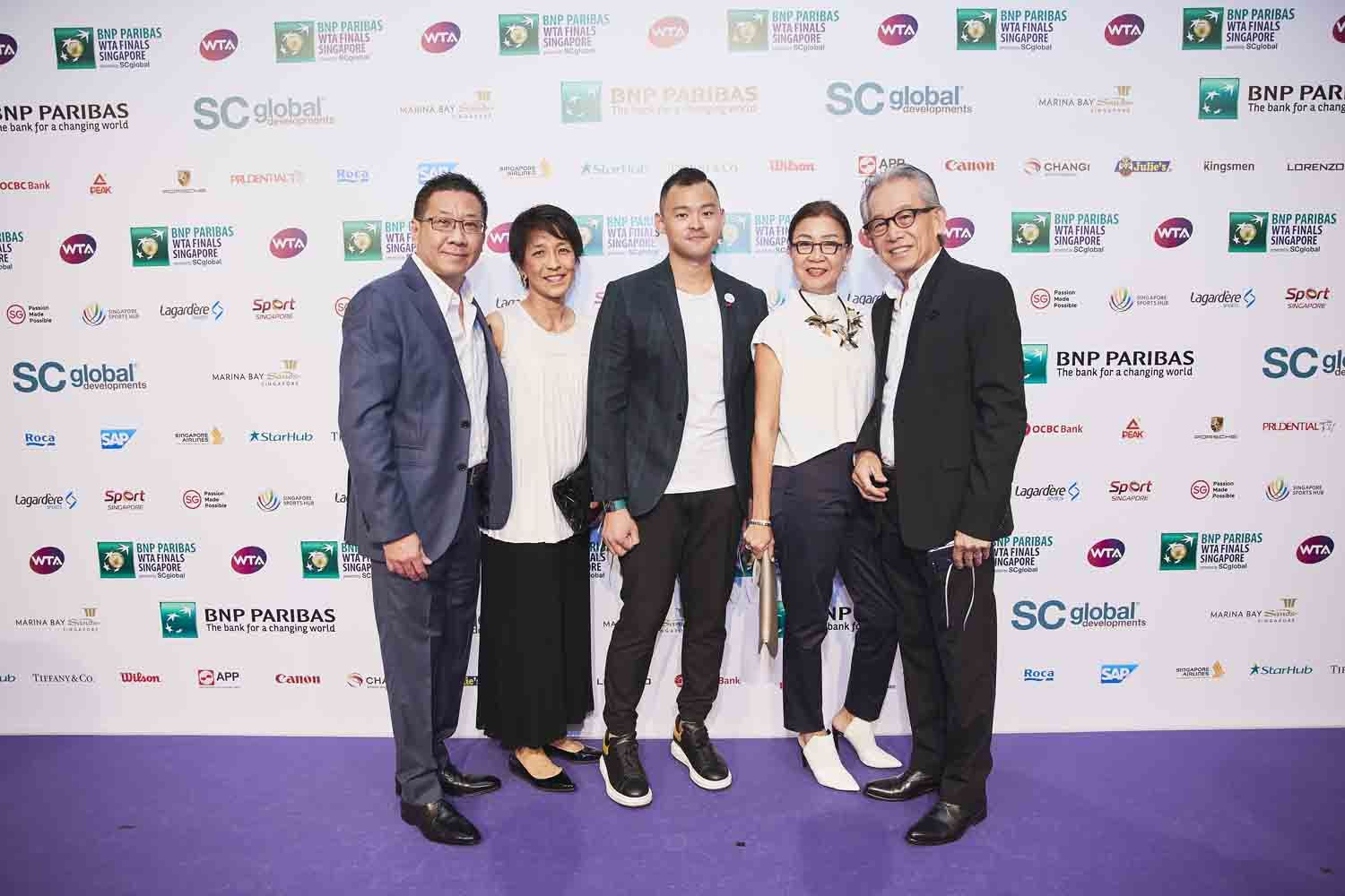 Andrew Cheng, Dawn Cheng, Marcus Teo, Vera Ong, Simon Ong