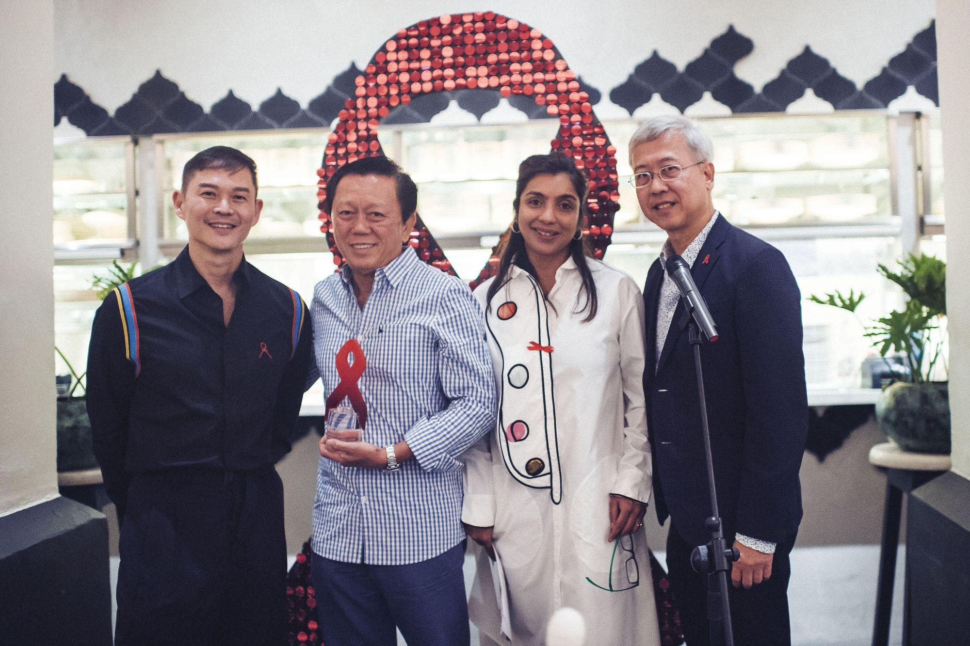 Roy Chan, Patrick Chong, Priya Sen, Saxone Woon