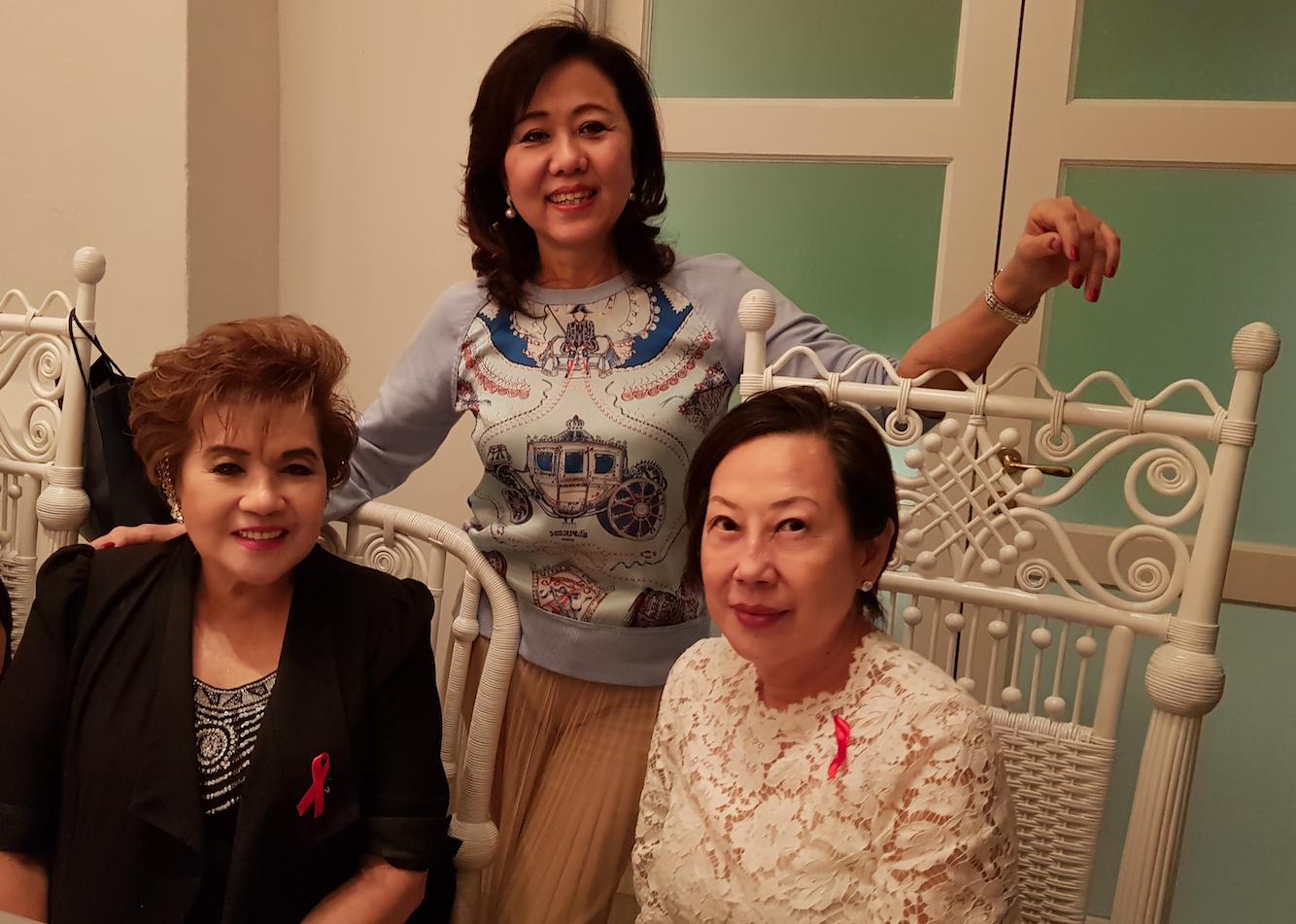 Lucy Chan, Chan Mei Lin, Pat Ban