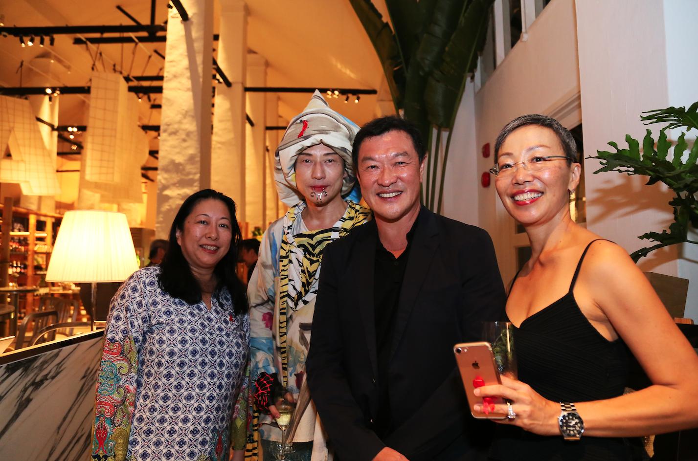 Kathryn Khoo, Ritz Lim, Goh Eck Meng, Natasha Foong