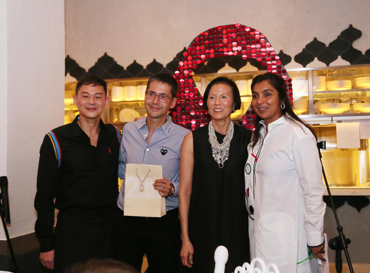 Roy Chan, Patrick Li, Christina Ong, Priya Sen