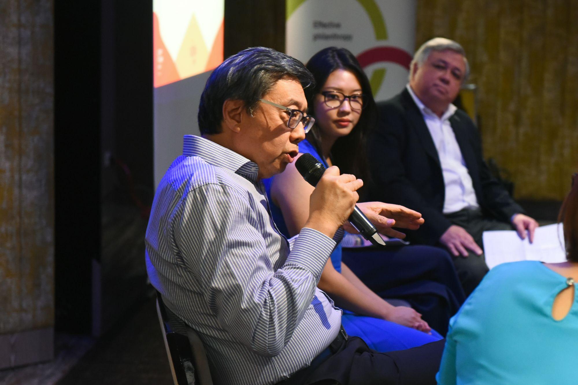 Richard Eu, Rebecca Eu, Keith Chua