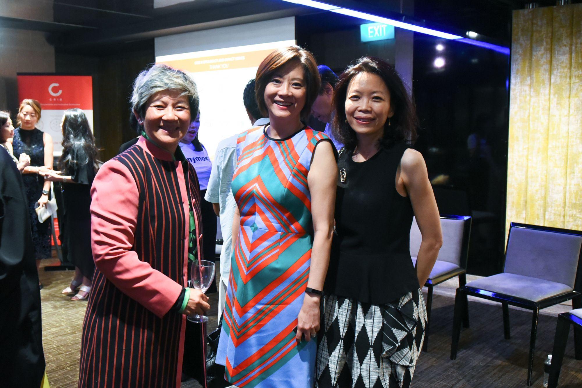 Elim Chew, Beatrice Chen, Chung Wei Han